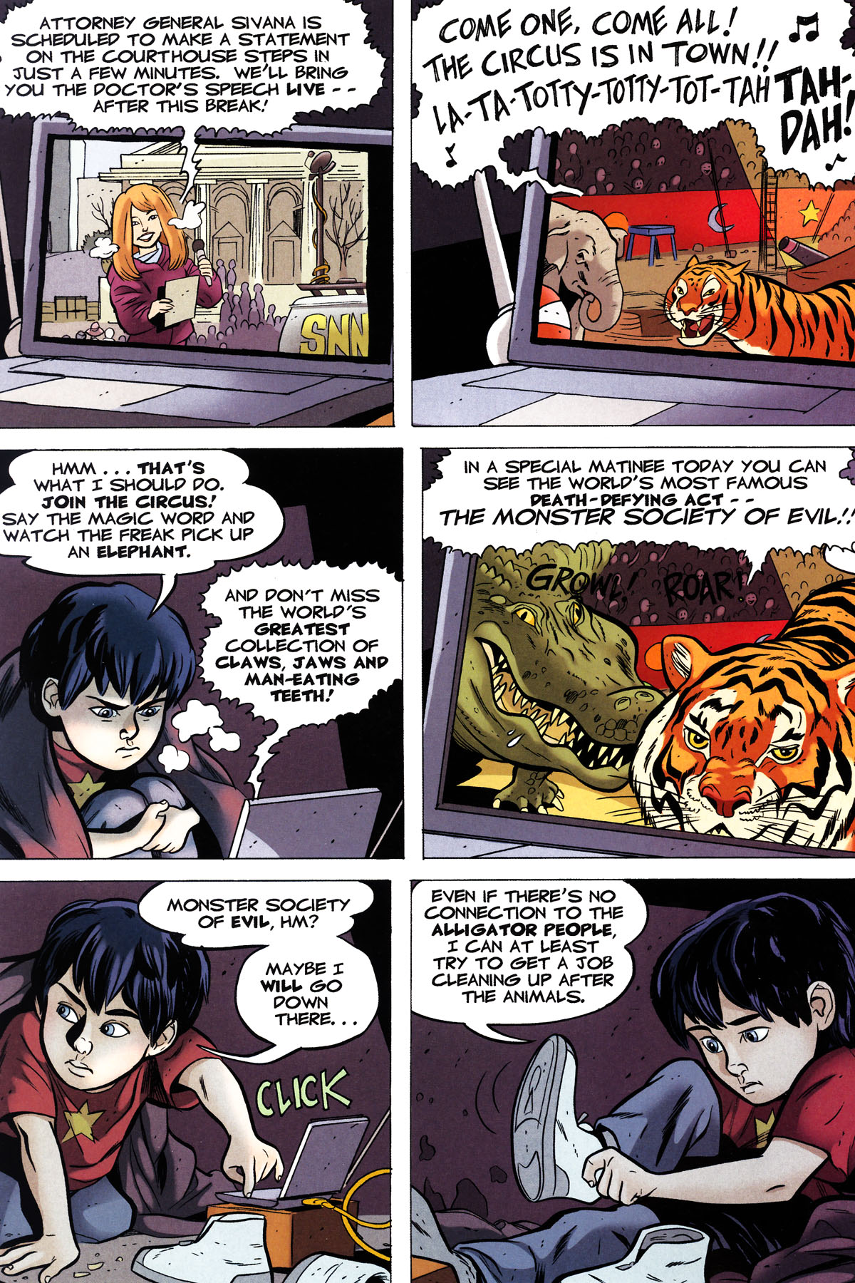 Read online Shazam!: The Monster Society of Evil comic -  Issue #2 - 7