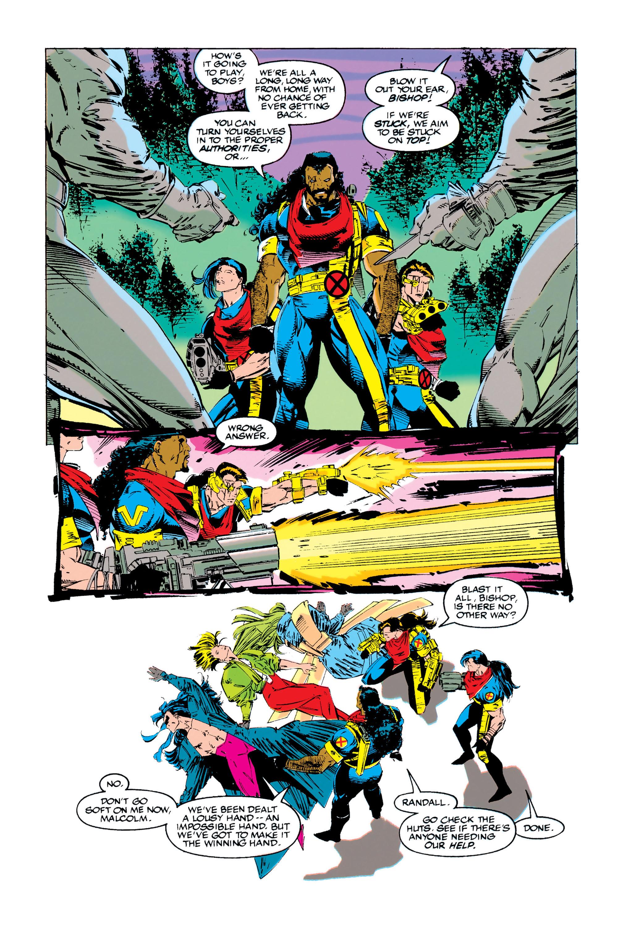 Read online Uncanny X-Men (1963) comic -  Issue #284 - 21