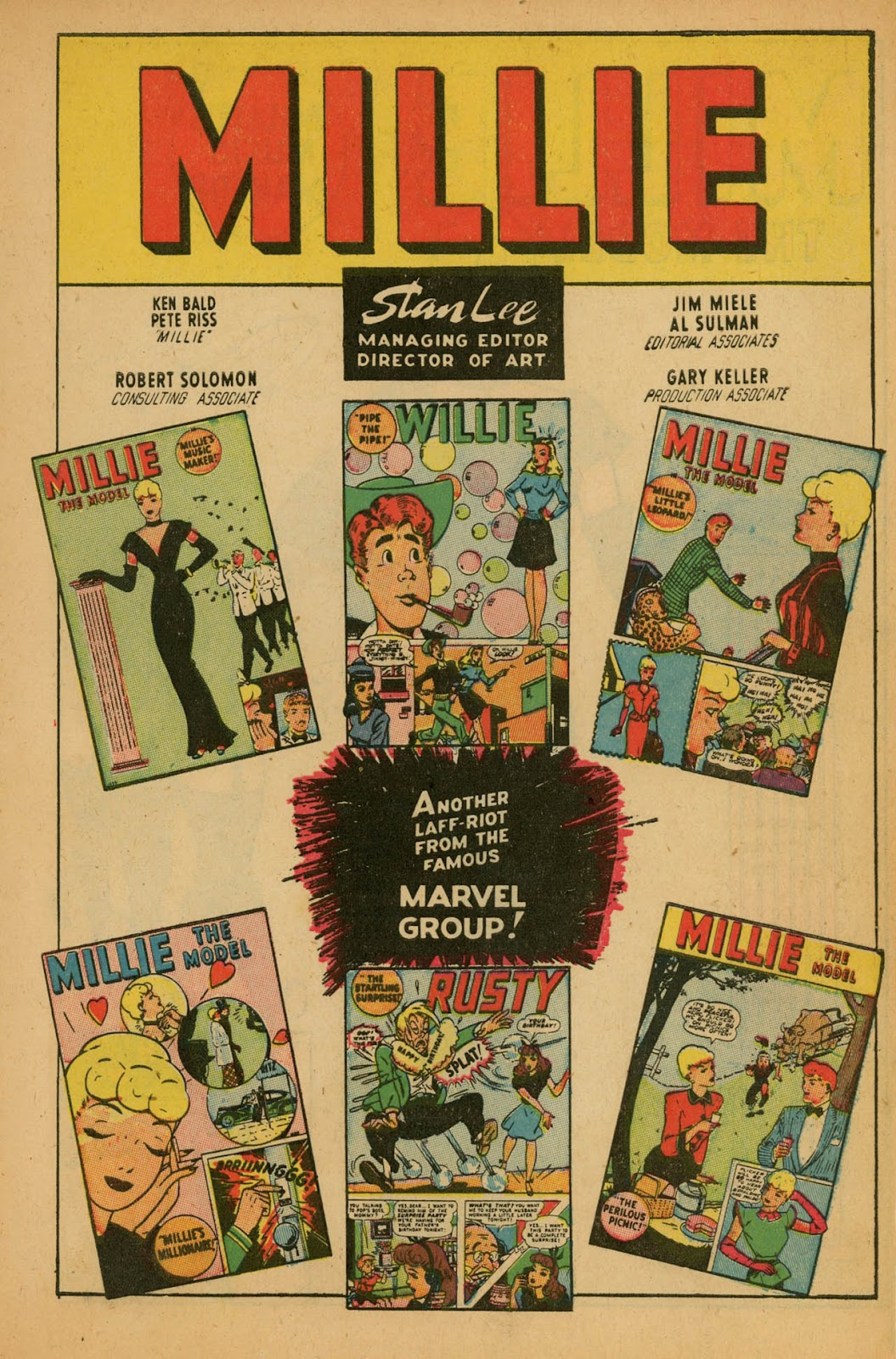 Read online Millie the Model comic -  Issue #7 - 3