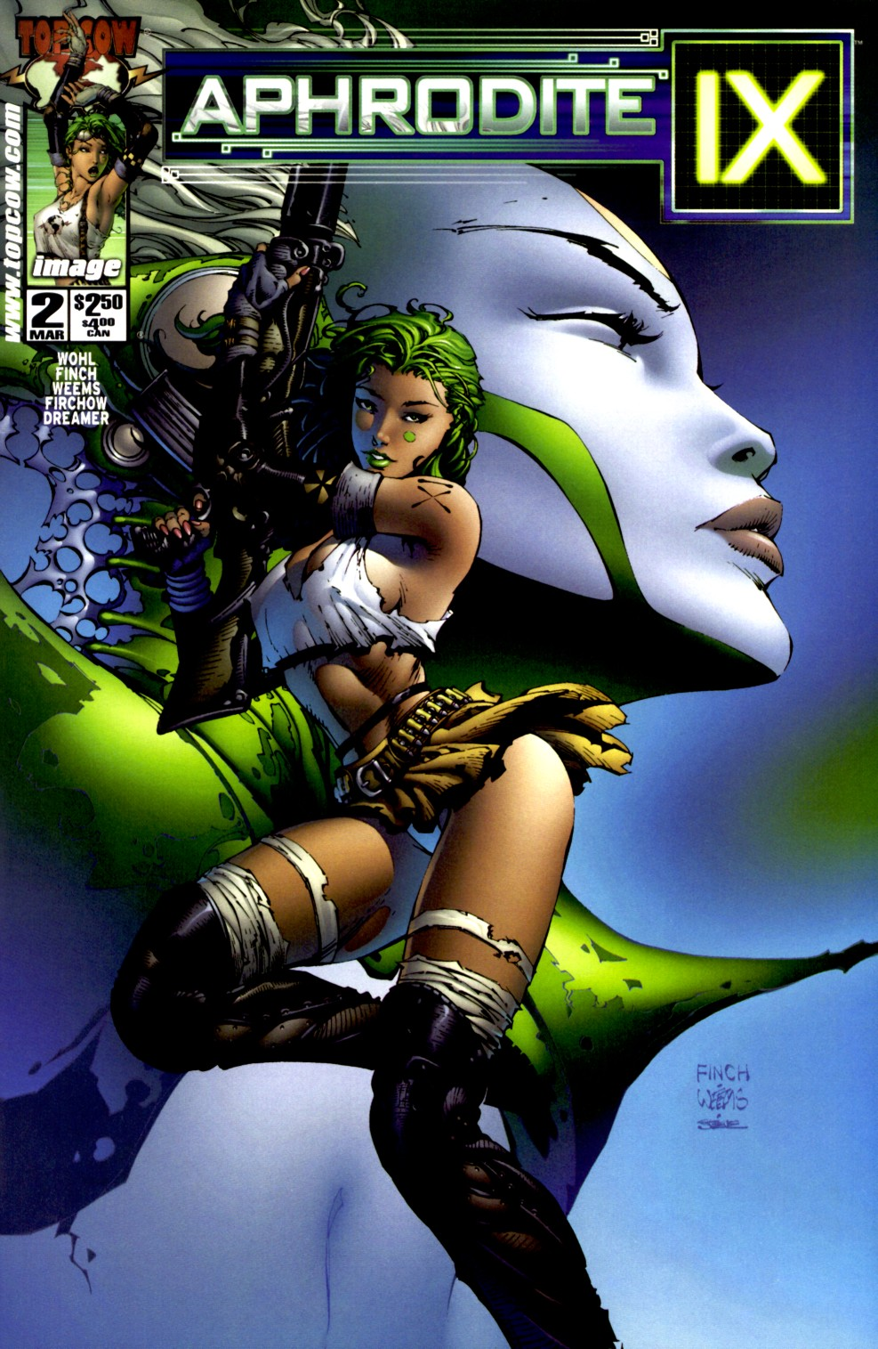 Read online Aphrodite IX (2000) comic -  Issue #2 - 1