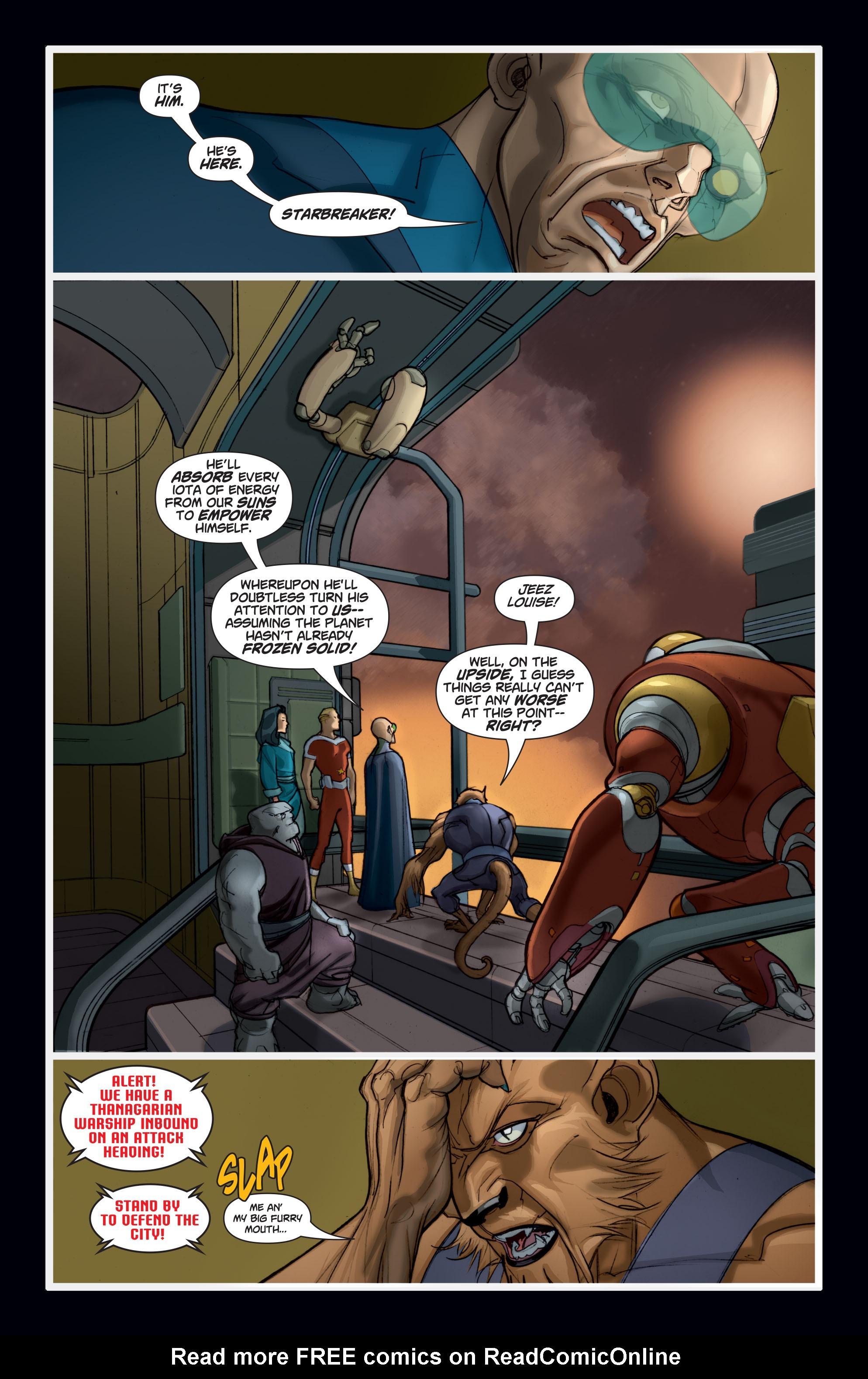 Read online Adam Strange (2004) comic -  Issue #7 - 17