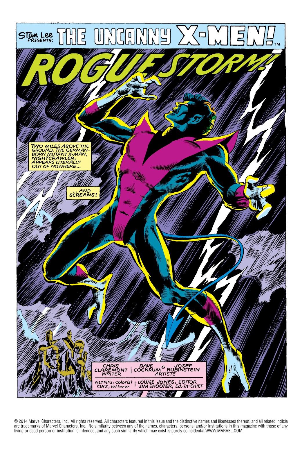 Uncanny X-Men (1963) issue 147 - Page 2