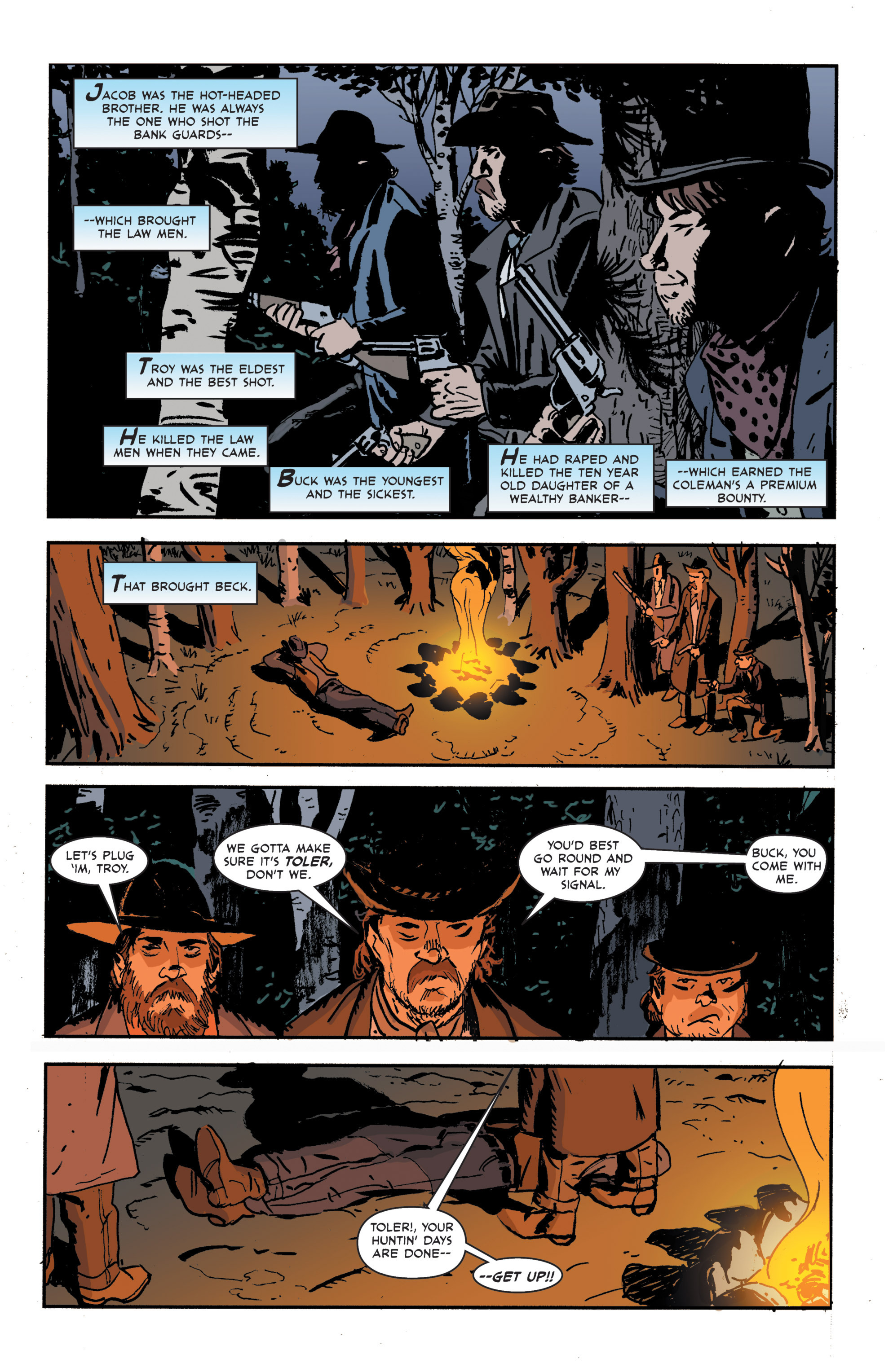 Read online 3 Devils comic -  Issue #3 - 23