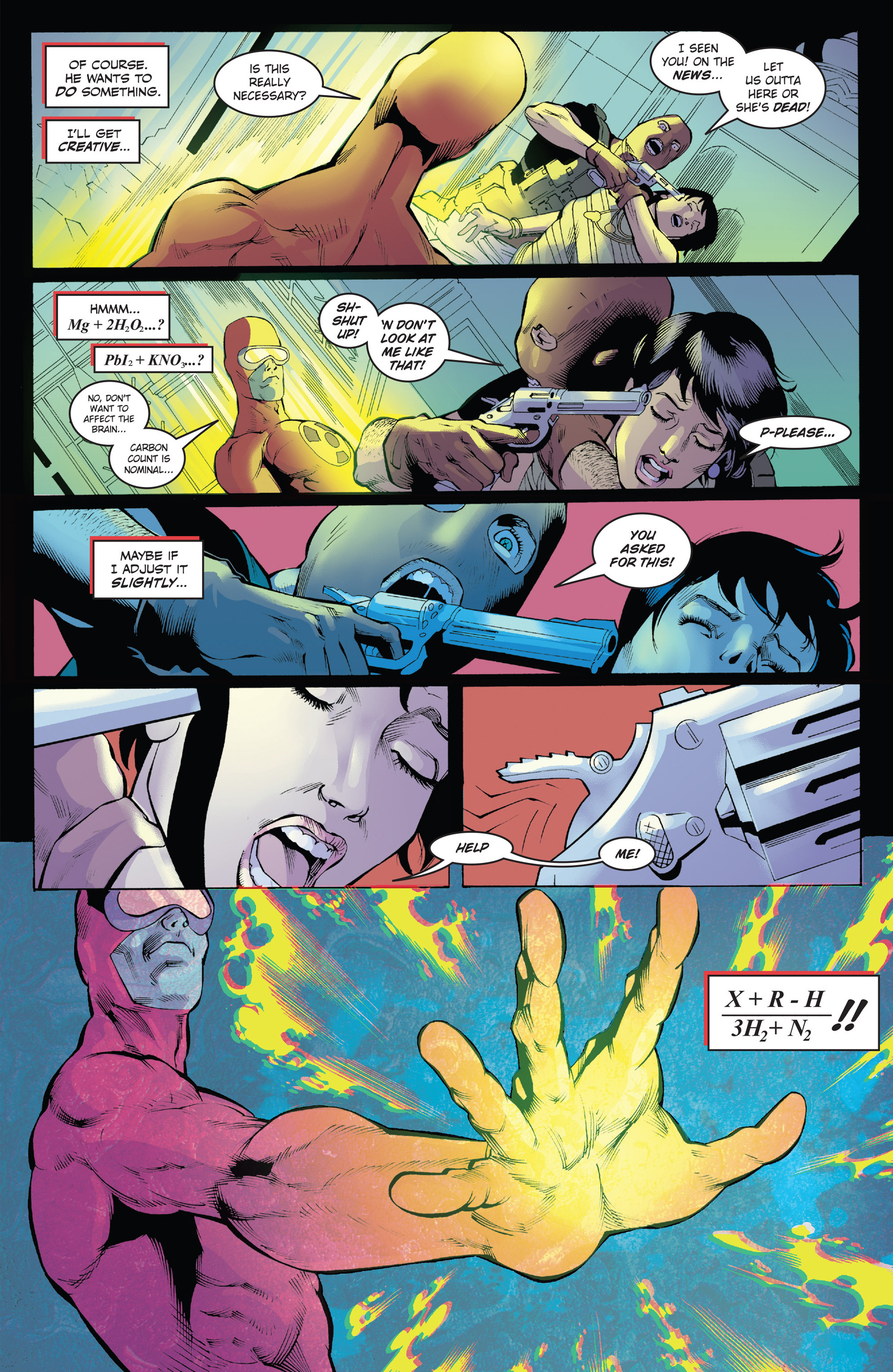 Read online Solar: Man of the Atom (2014) comic -  Issue #1 - 9