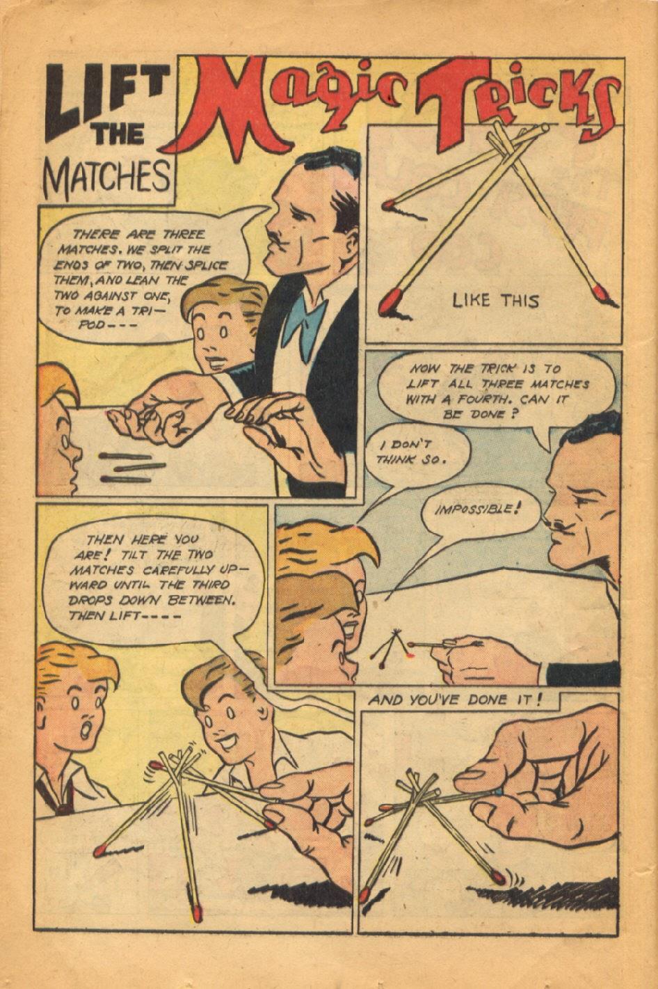 Read online Super-Magician Comics comic -  Issue #52 - 19