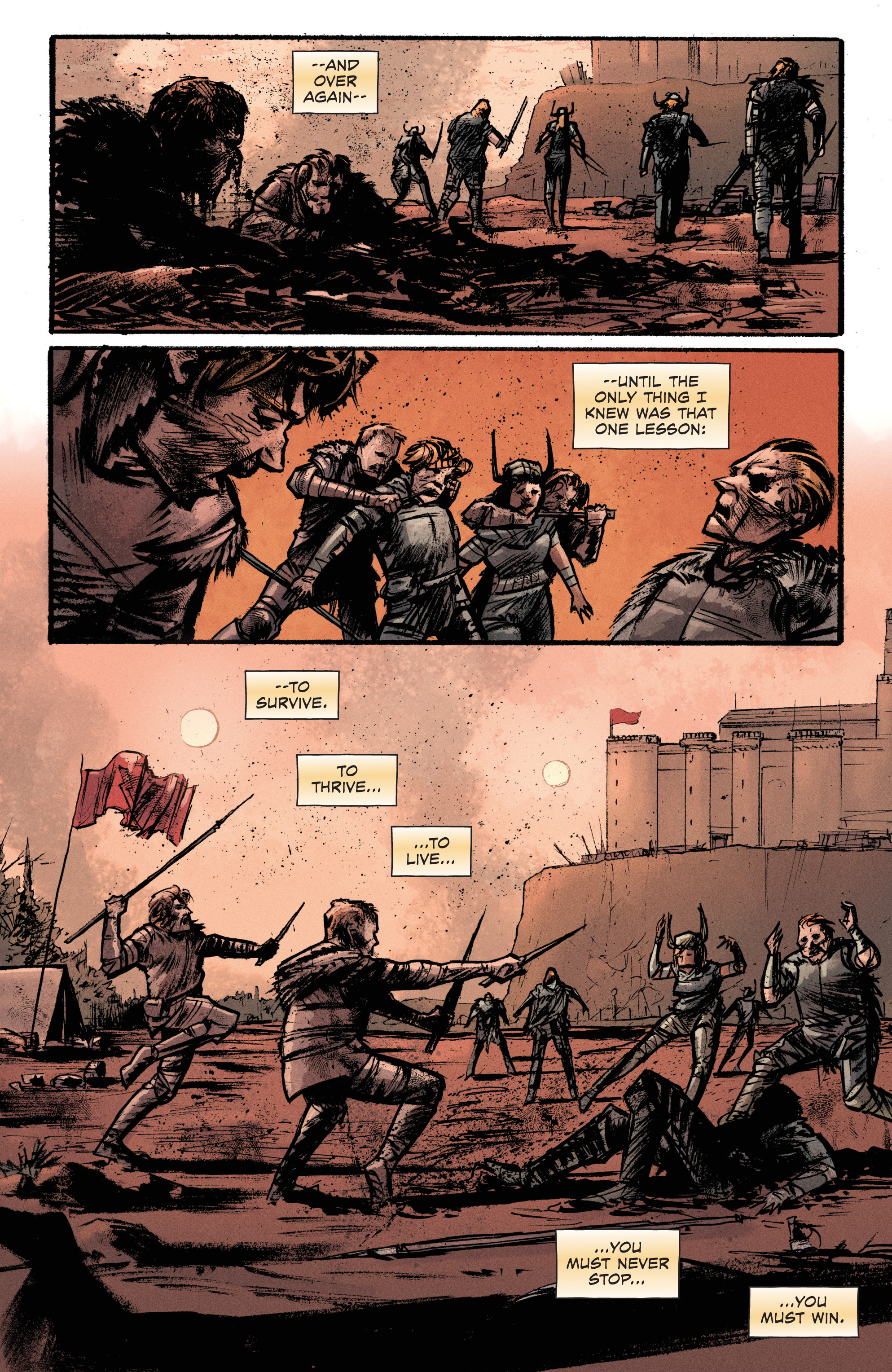 Read online Pierce Brown's Red Rising: Son Of Ares comic -  Issue #2 - 12