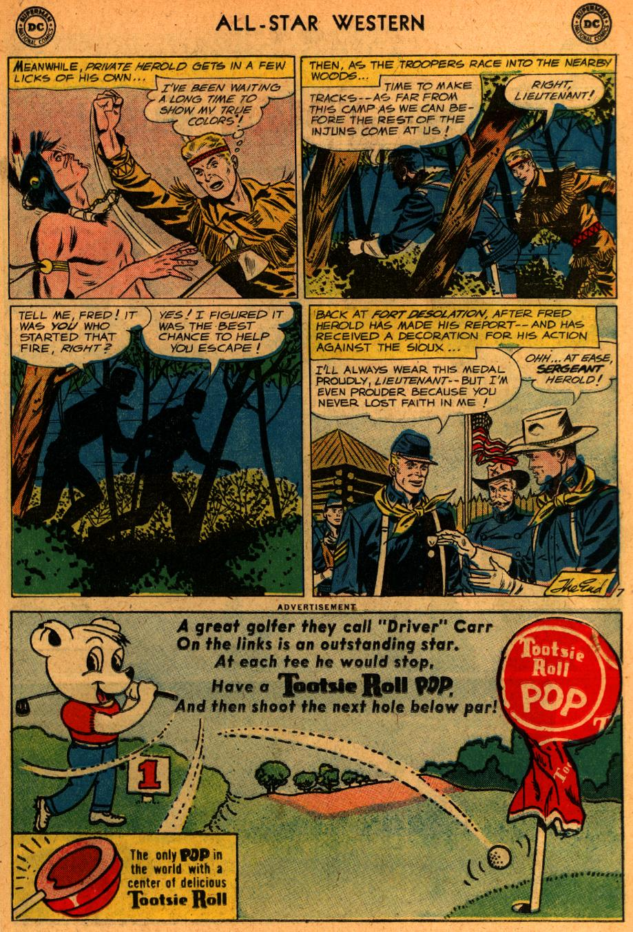 Read online All-Star Western (1951) comic -  Issue #107 - 22