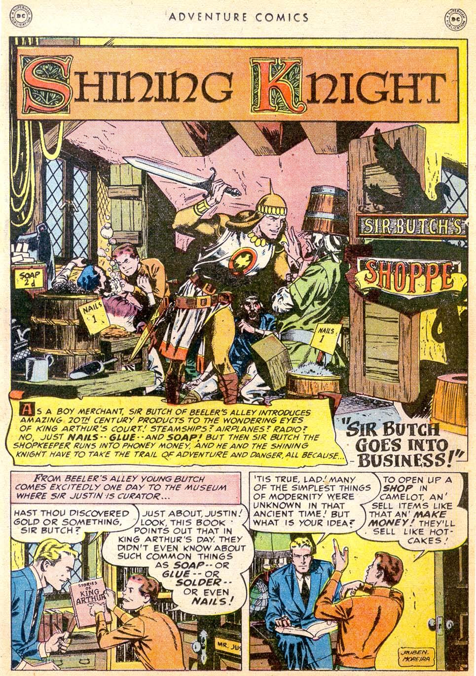 Read online Adventure Comics (1938) comic -  Issue #144 - 21