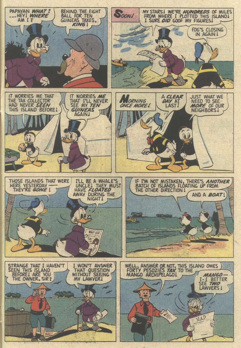 Read online Uncle Scrooge (1953) comic -  Issue #239 - 31