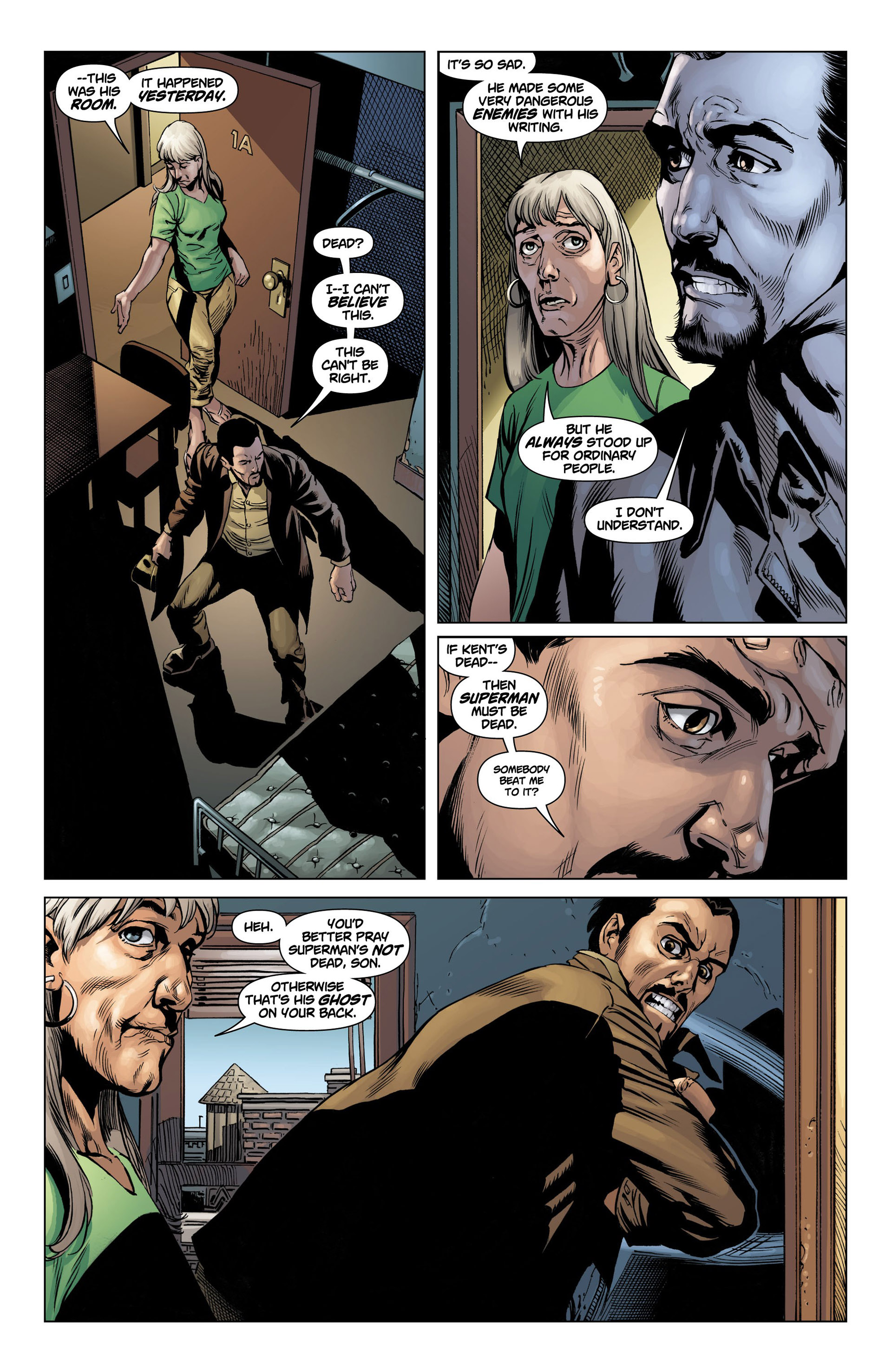 Read online Action Comics (2011) comic -  Issue #10 - 17