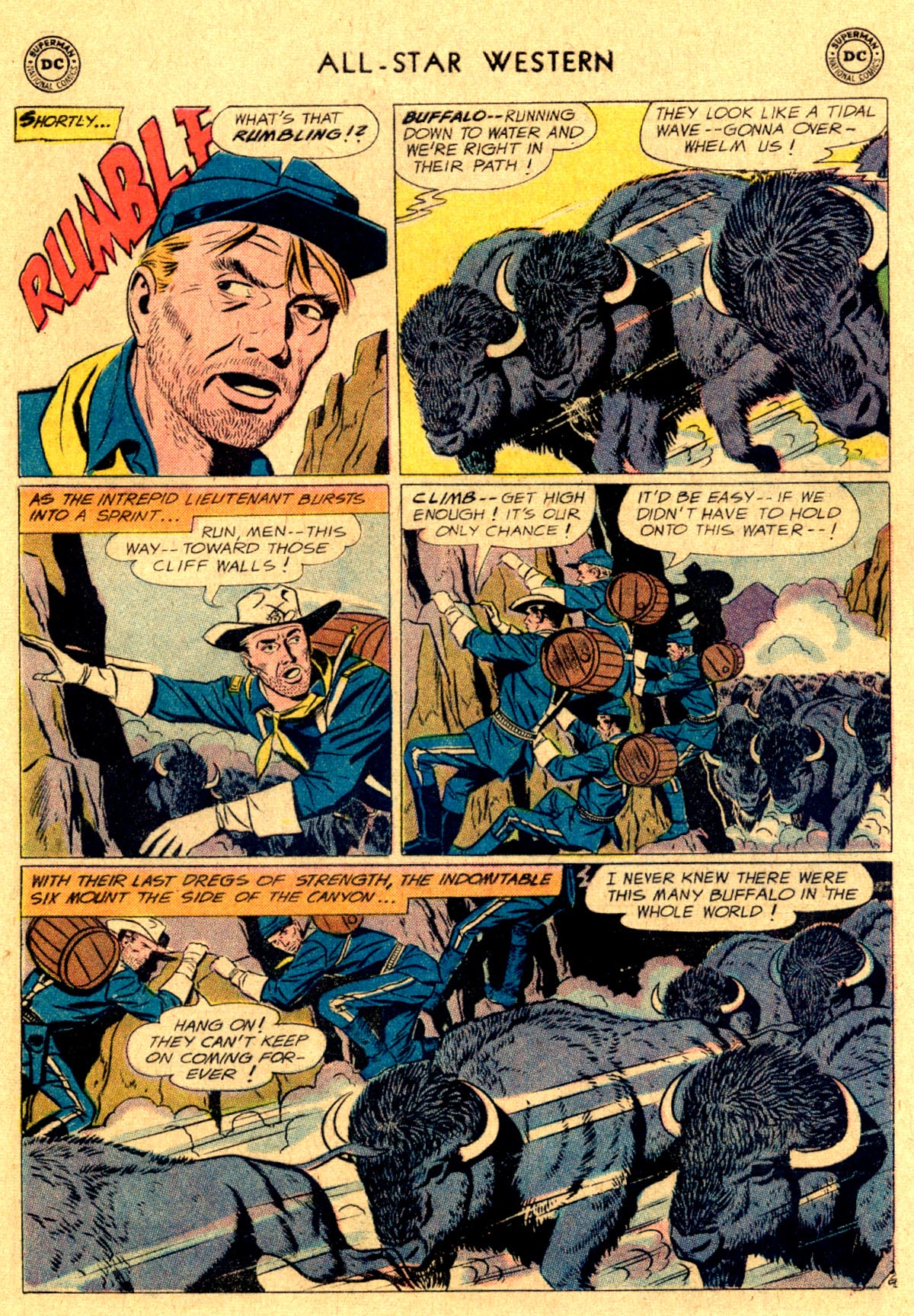 Read online All-Star Western (1951) comic -  Issue #112 - 21
