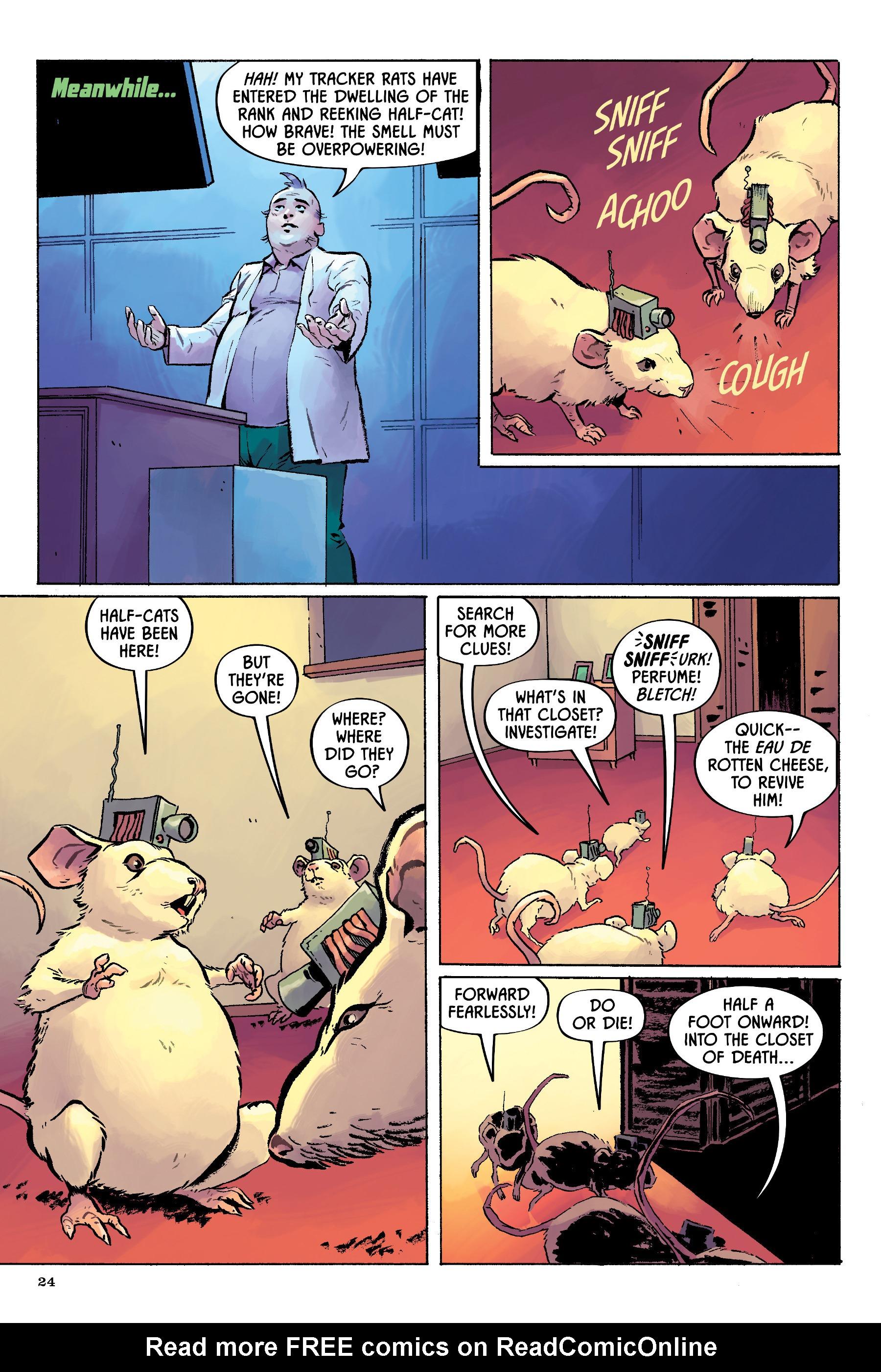 Read online Angel Catbird comic -  Issue # TPB 2 - 25