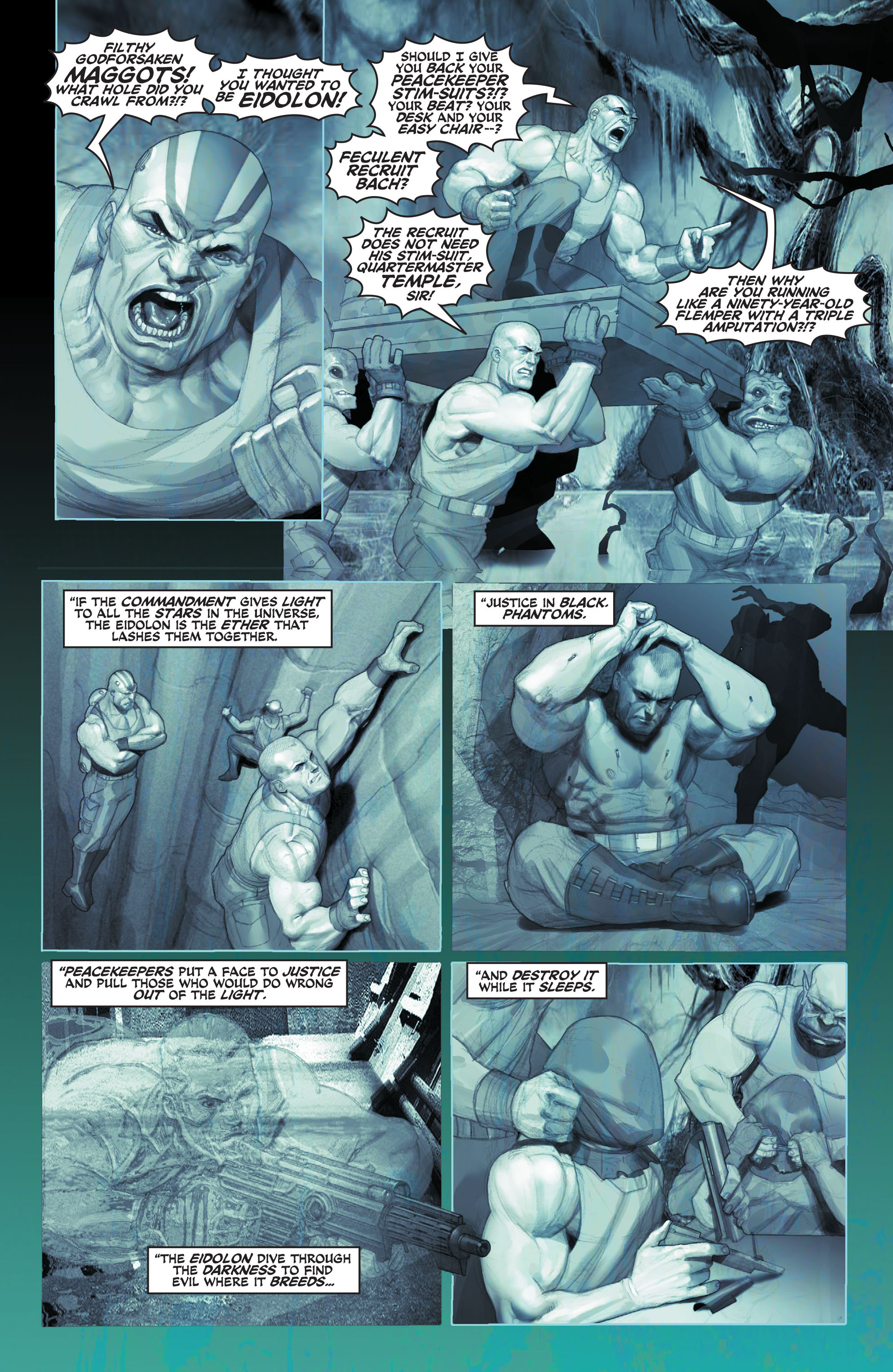 Read online Space Ghost (2016) comic -  Issue # Full - 13