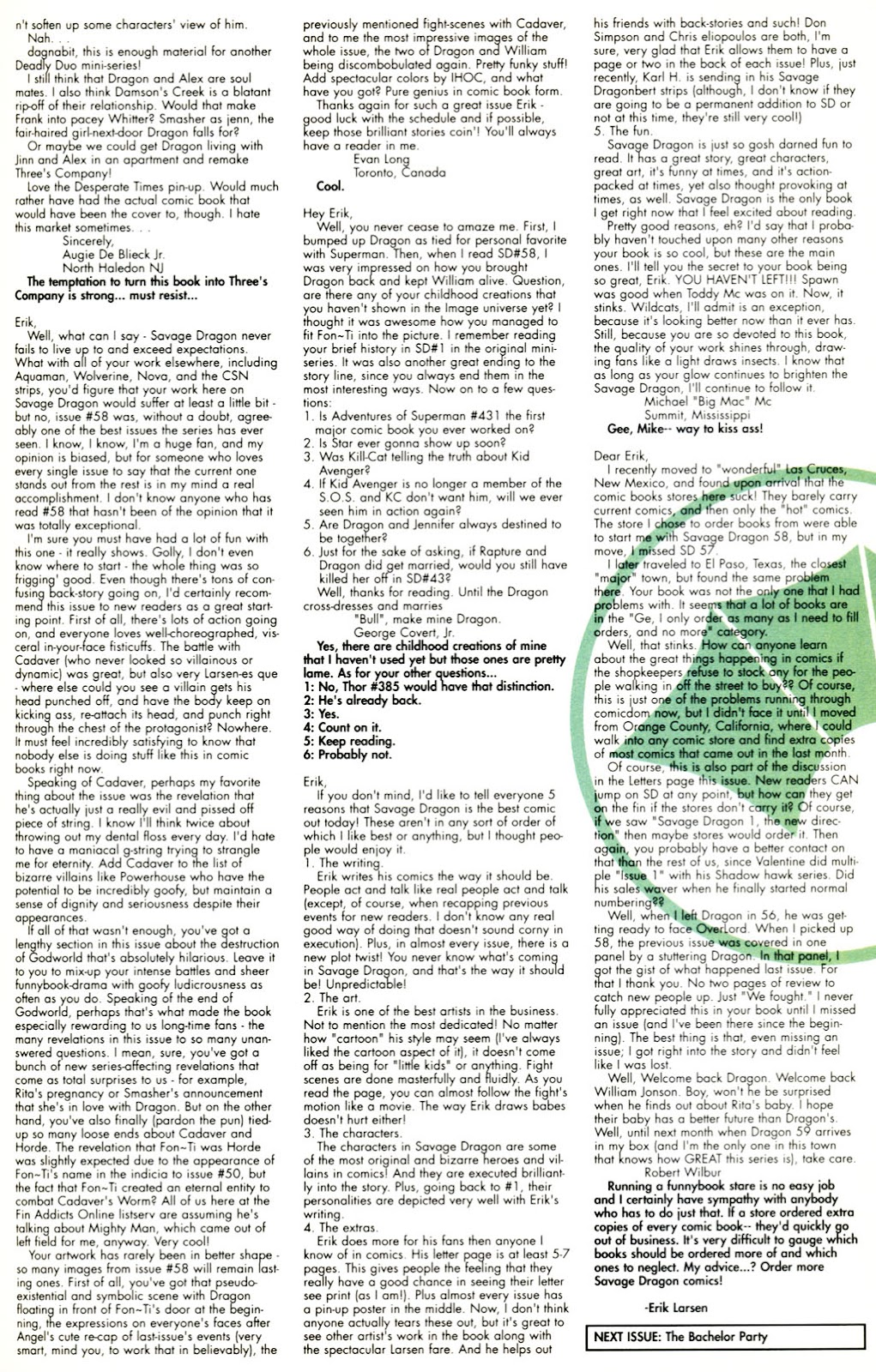 The Savage Dragon (1993) Issue #60 #63 - English 26