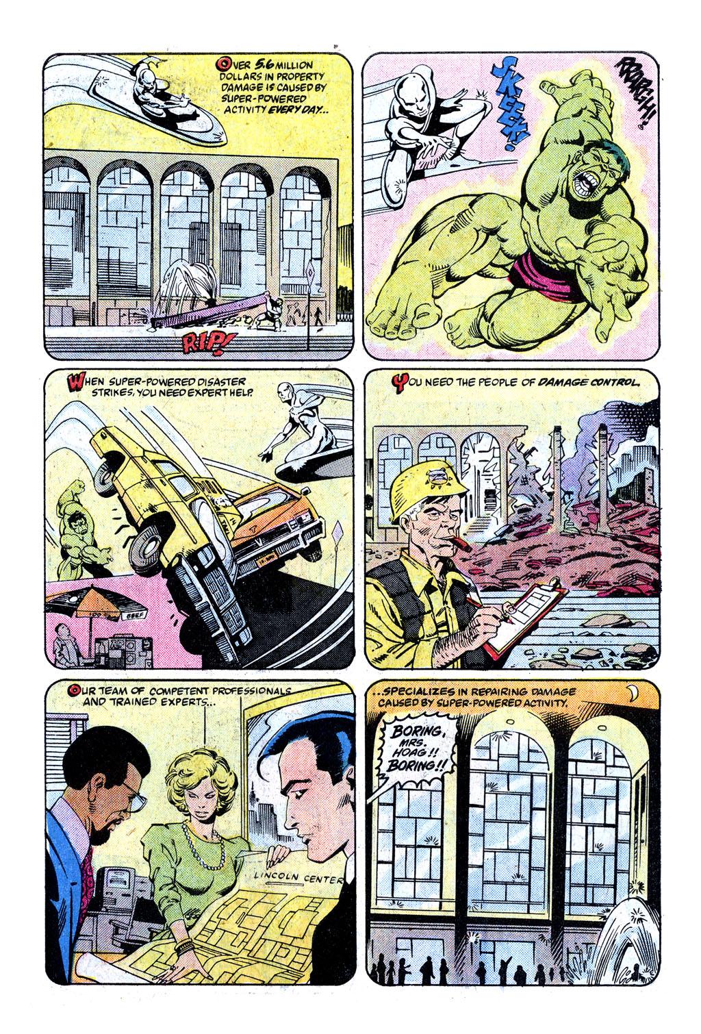 Damage Control (vol. 1) 3 Page 2
