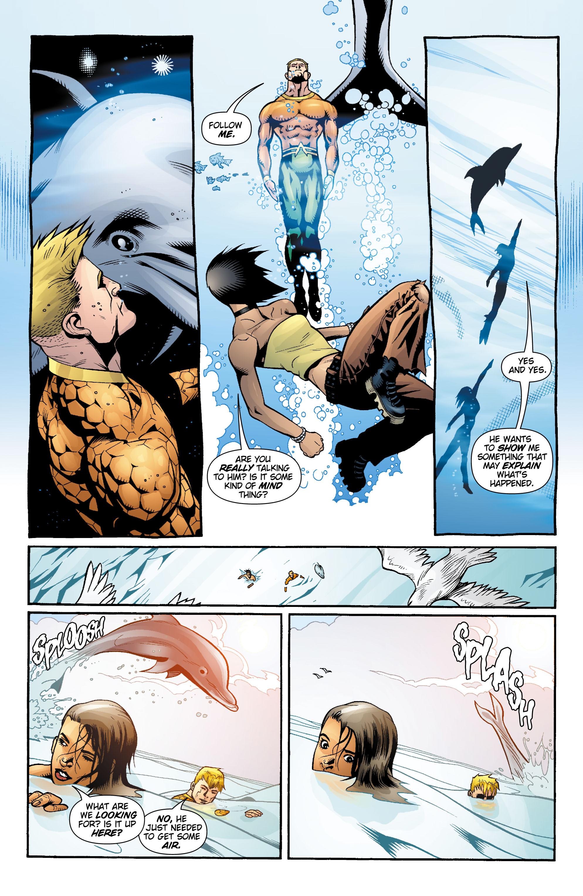 Read online Aquaman (2003) comic -  Issue #17 - 19