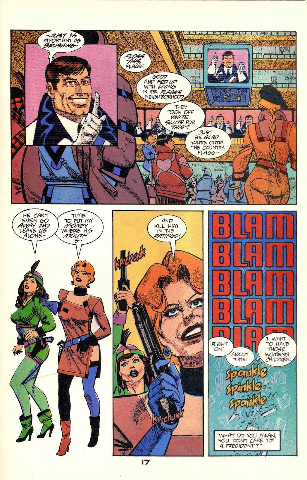 Howard Chaykin's American Flagg issue 2 - Page 19