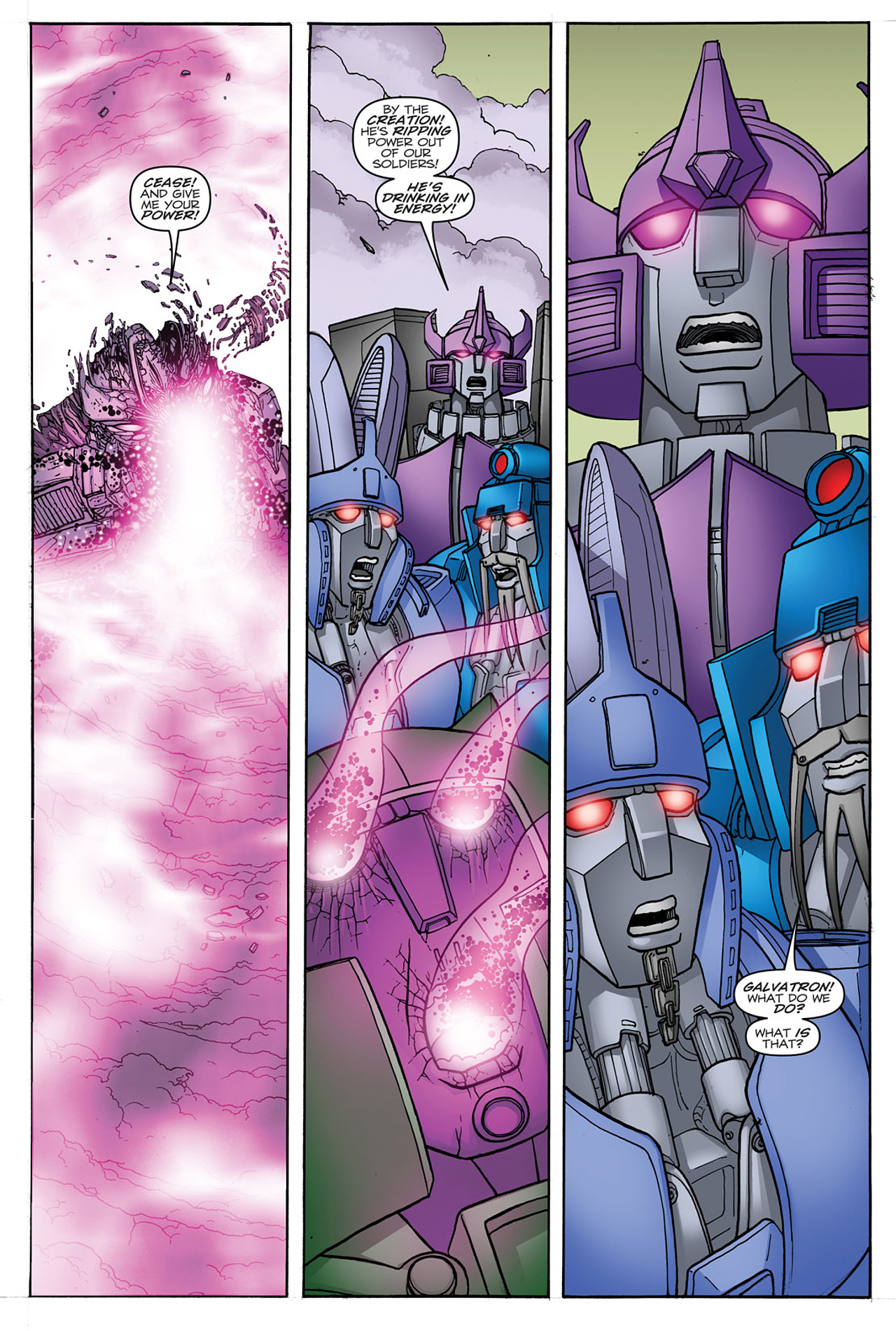 Read online Transformers: Heart of Darkness comic -  Issue #4 - 11
