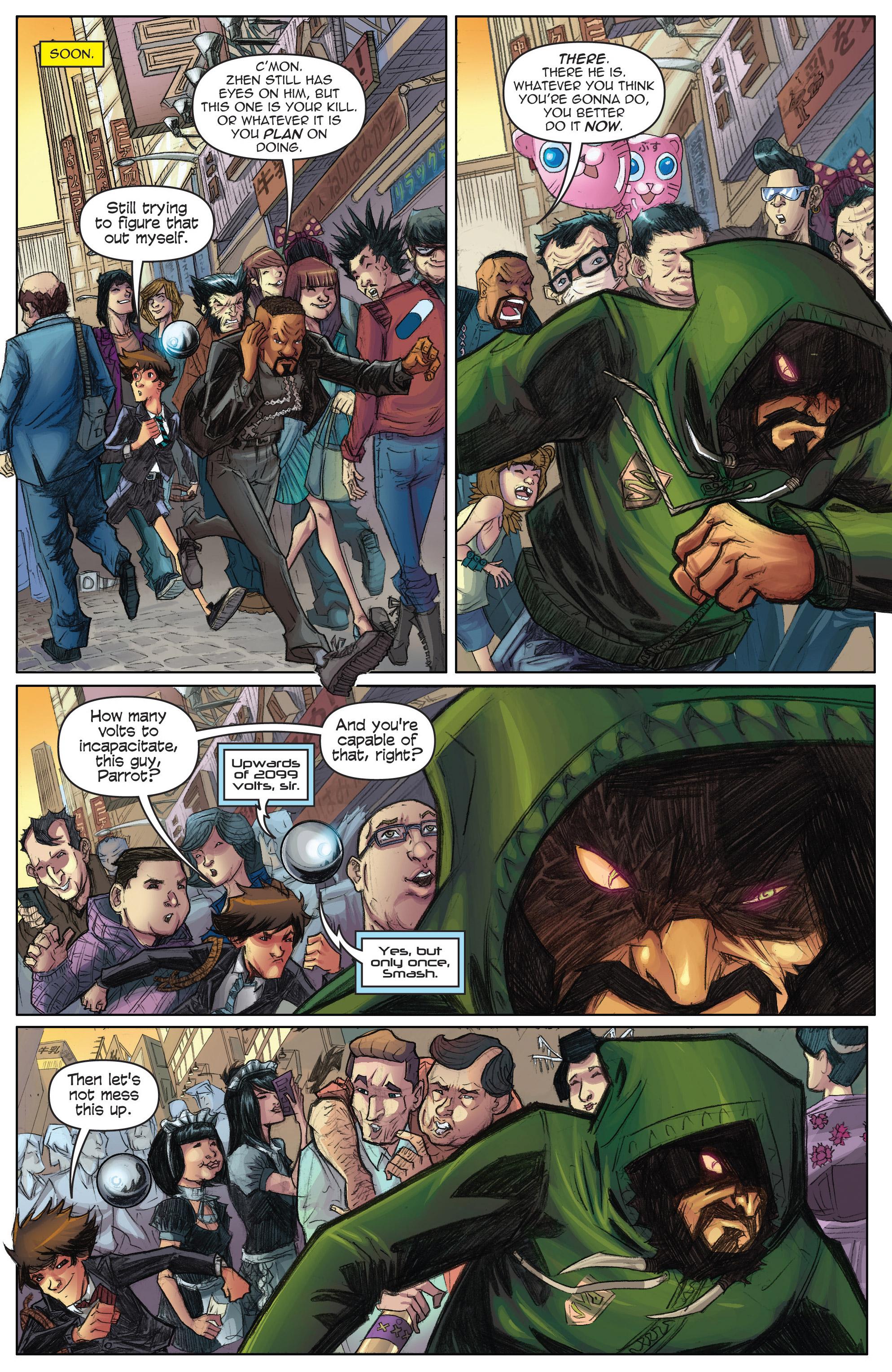 Read online Infinite Seven comic -  Issue #3 - 17