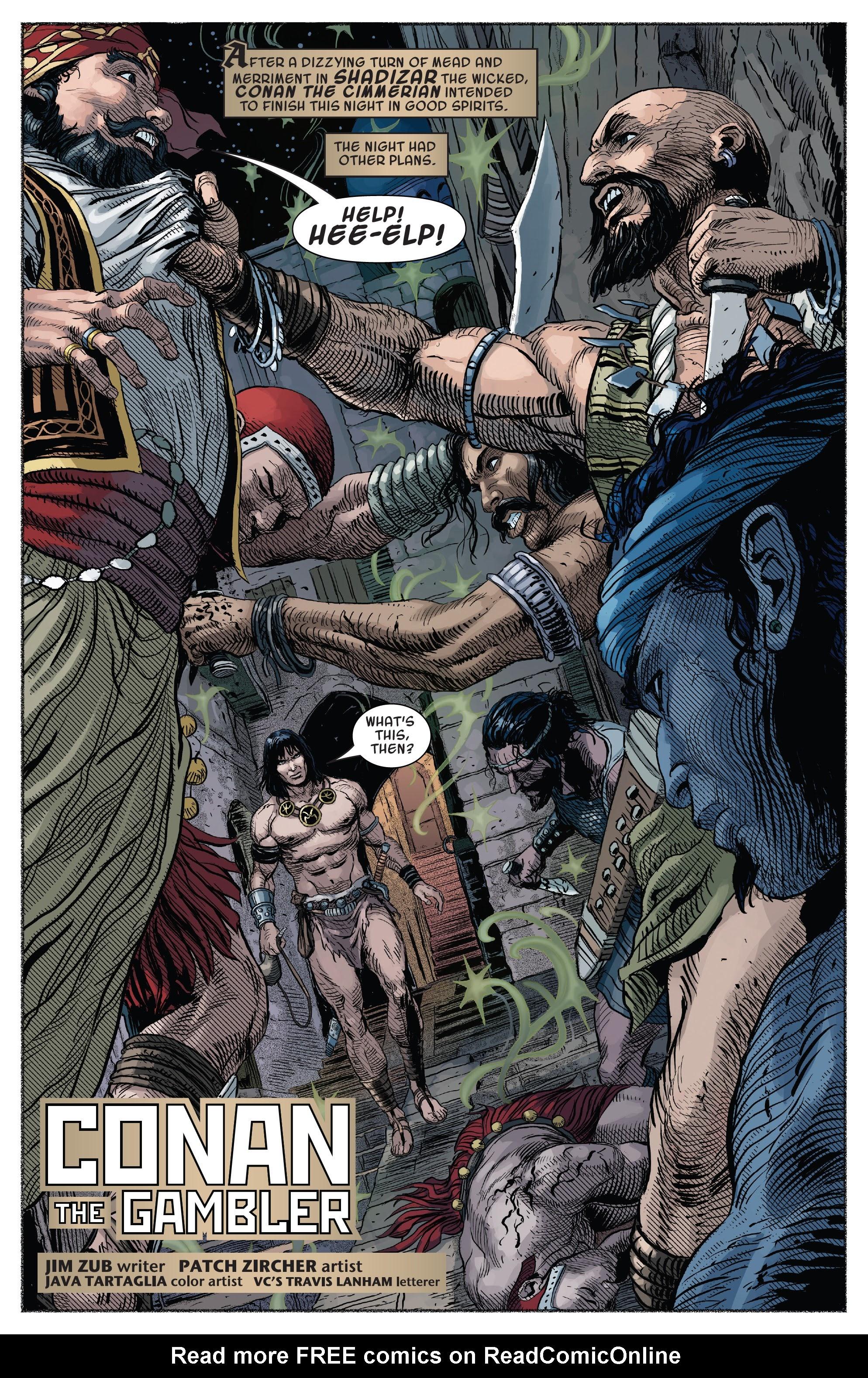 Read online Savage Sword of Conan comic -  Issue #7 - 4