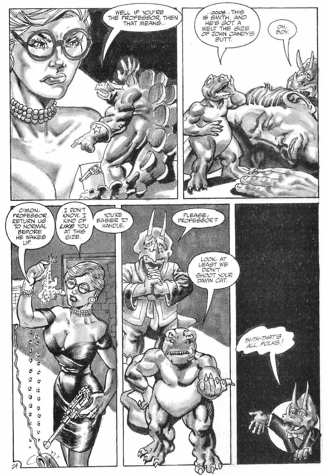 Dinosaurs For Hire (1988) issue 6 - Page 26