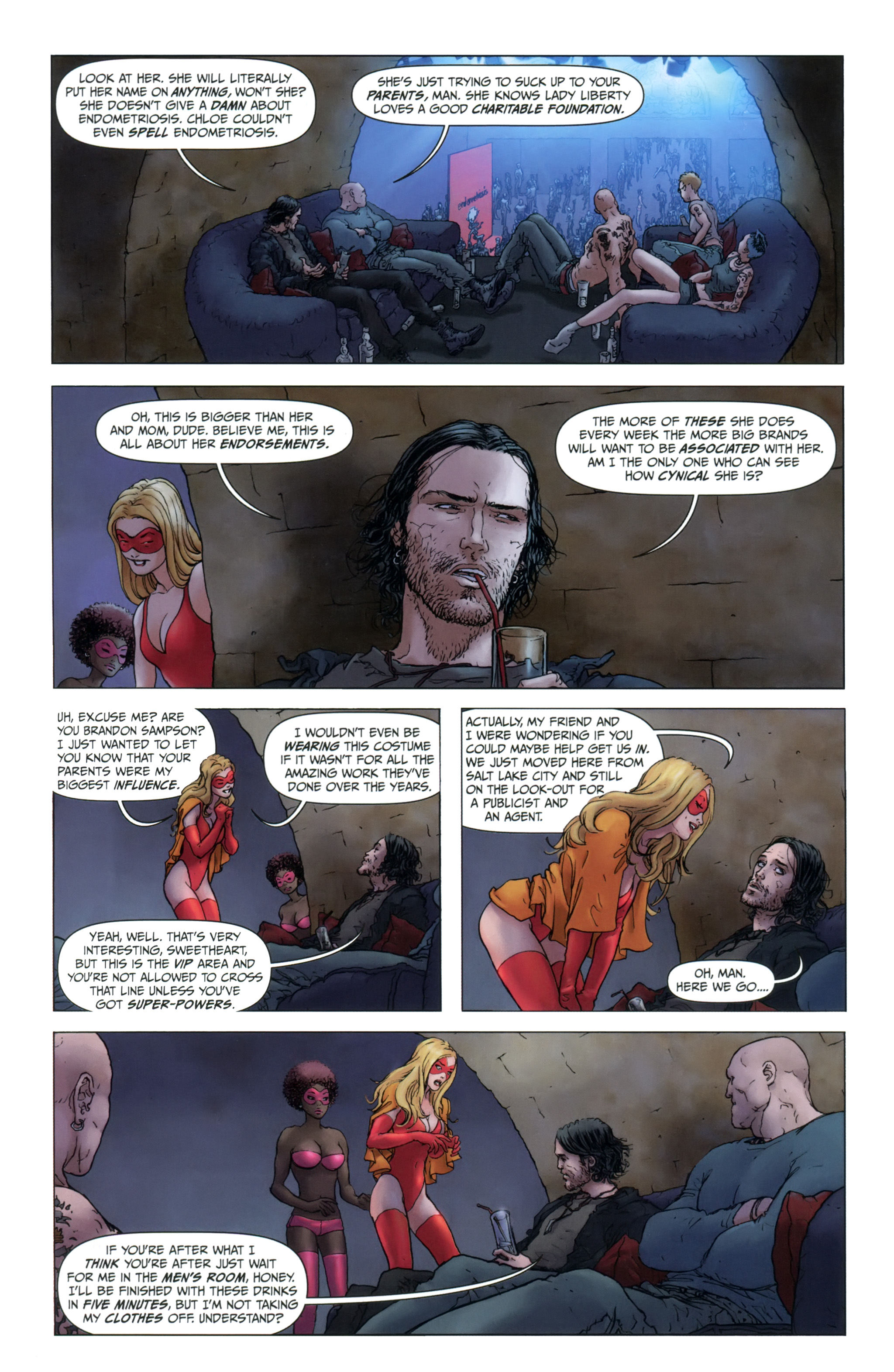 Read Online Jupiter S Legacy Comic Issue 1