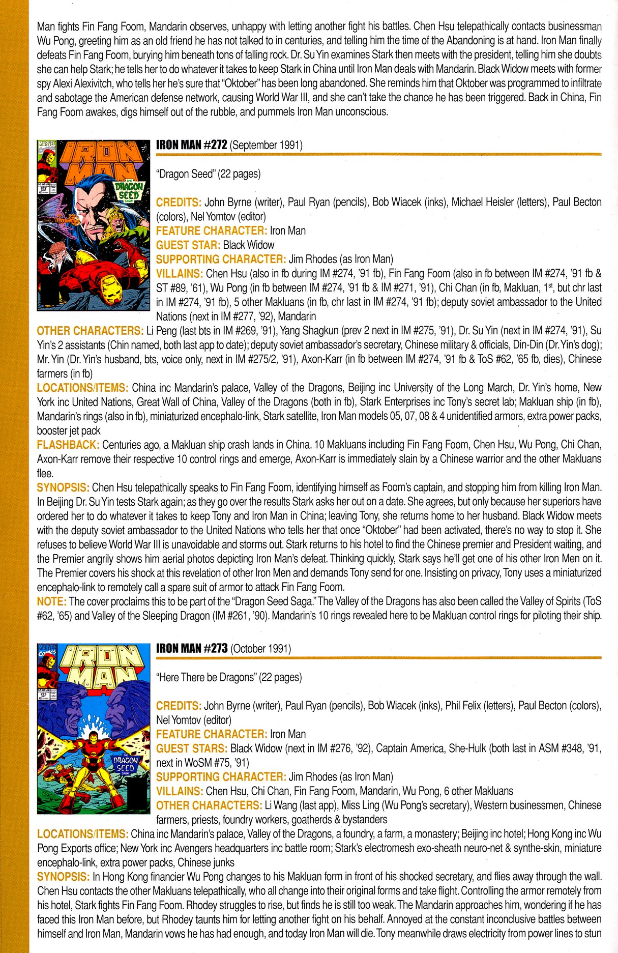 Read online Official Index to the Marvel Universe comic -  Issue #8 - 30