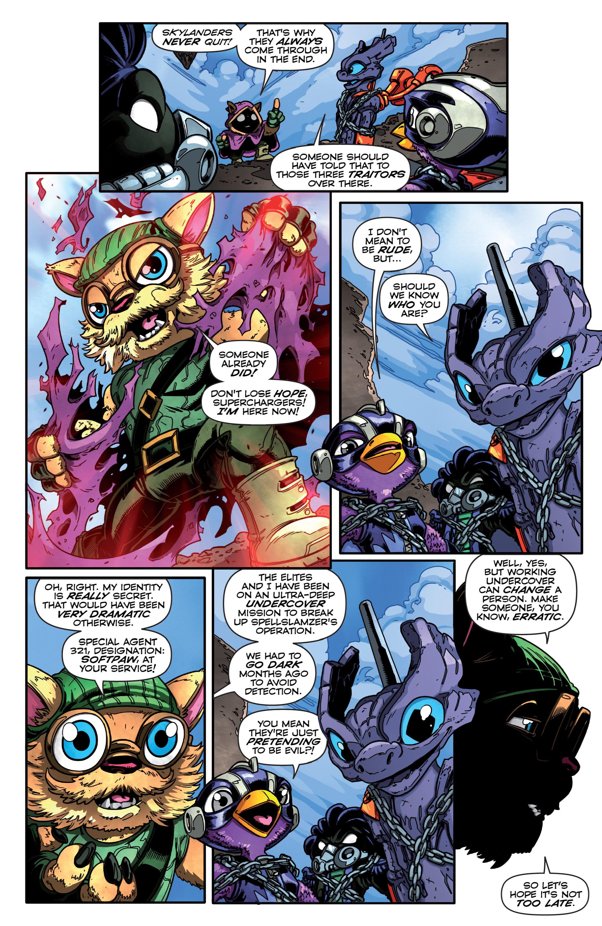 Read online Skylanders Superchargers comic -  Issue #3 - 6