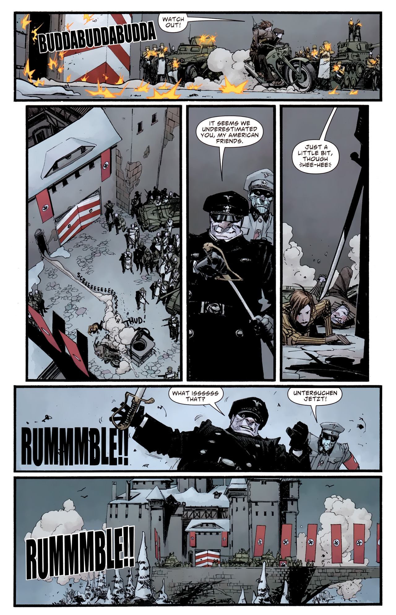 Read online American Vampire: Survival of the Fittest comic -  Issue #4 - 20