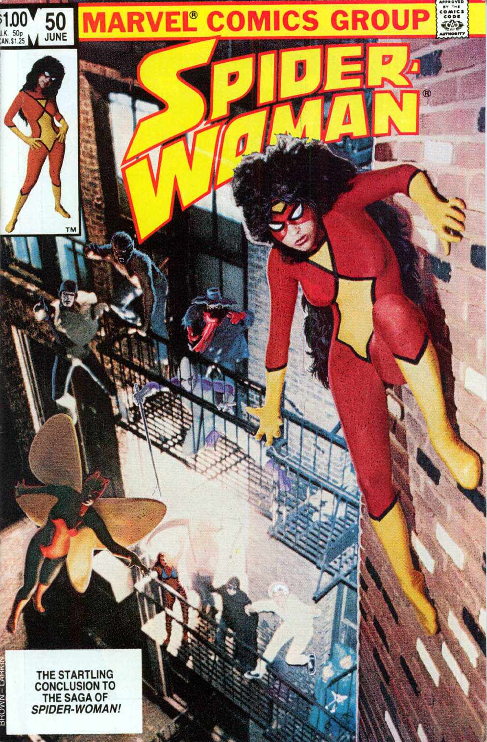 Spider-Woman (1978) issue 50 - Page 1