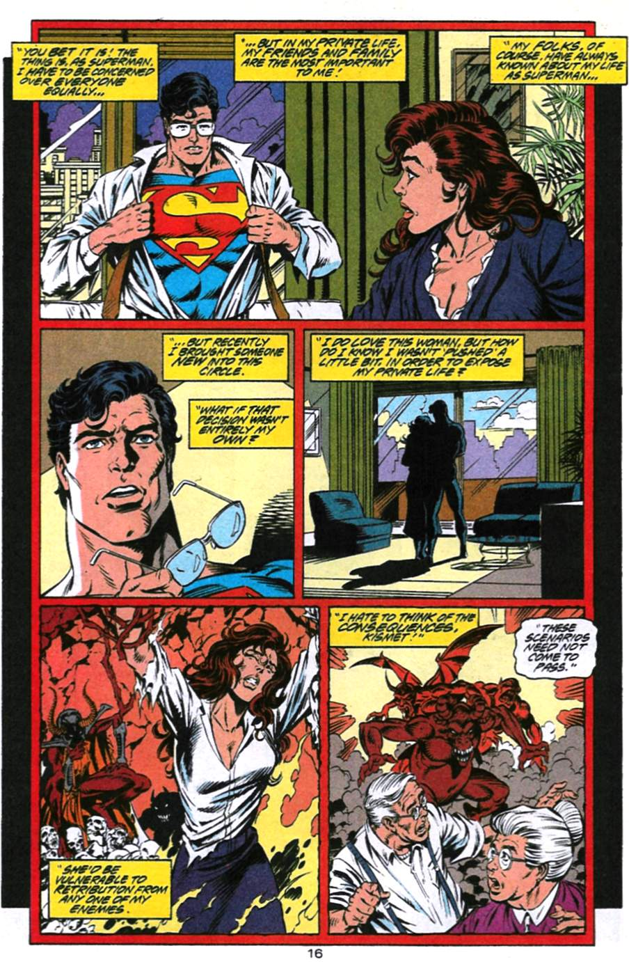 Read online Adventures of Superman (1987) comic -  Issue #494 - 17