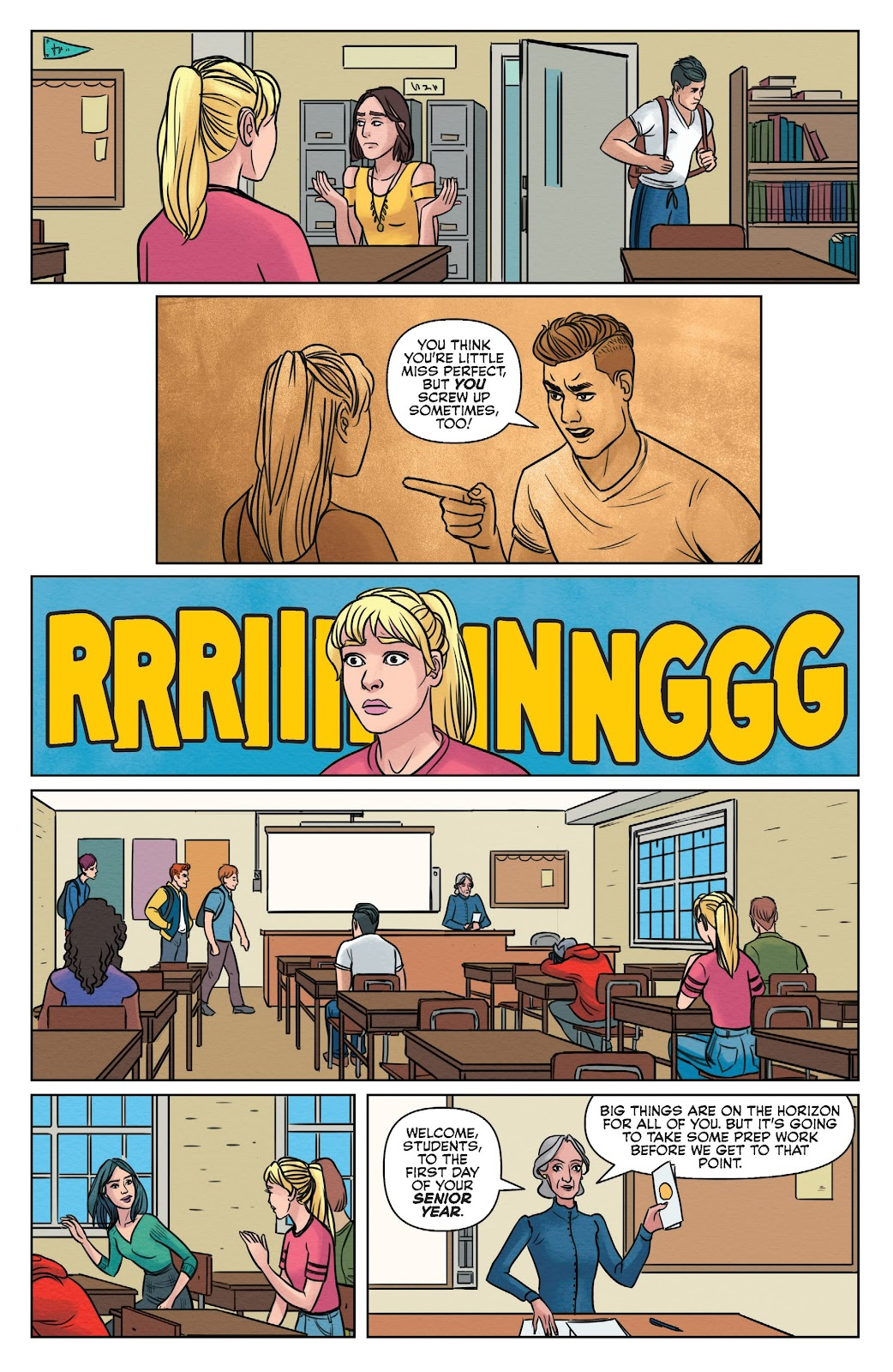 Read online Betty & Veronica (2019) comic -  Issue #1 - 10