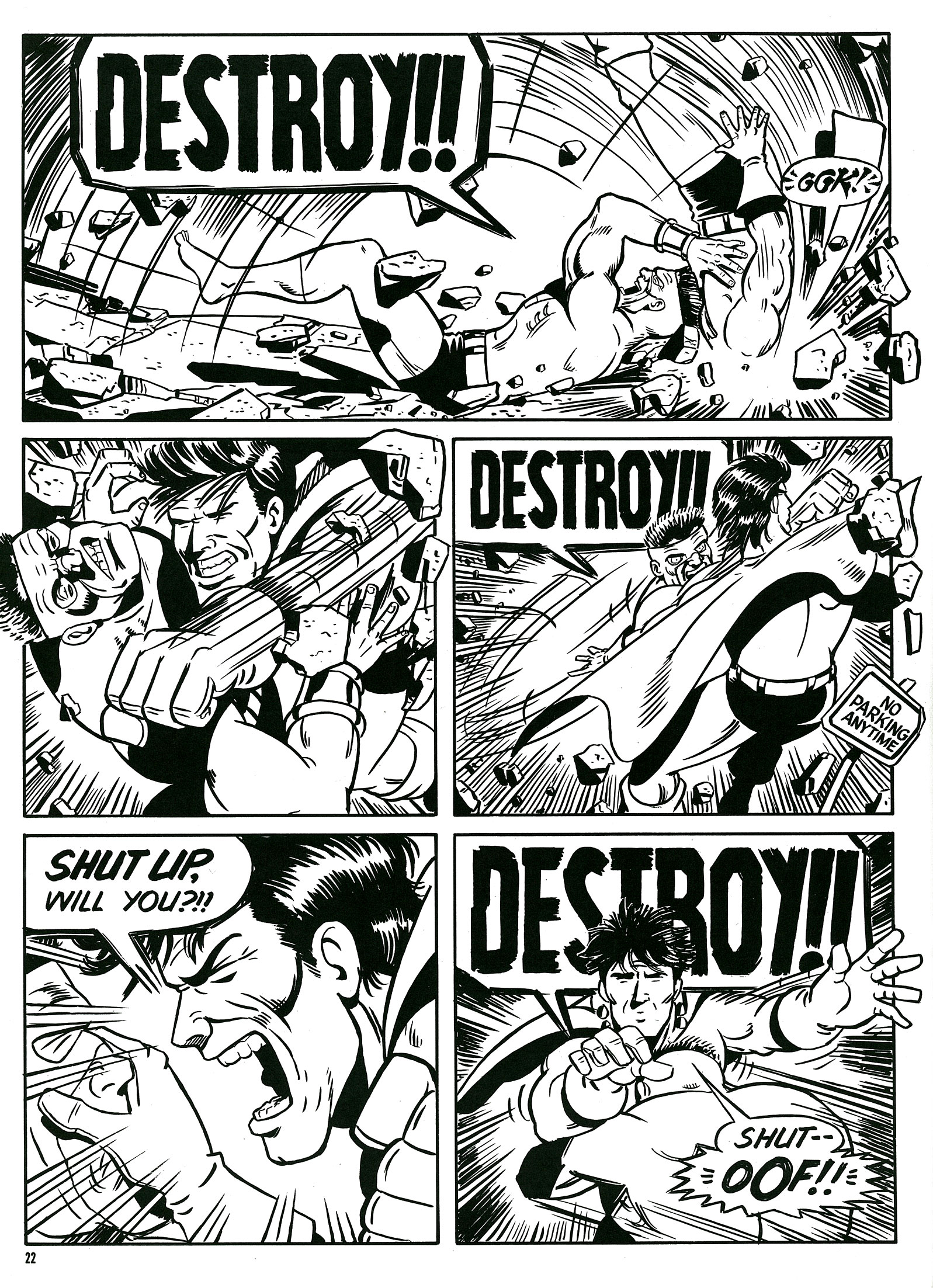Read online Destroy!! comic -  Issue # Full - 24