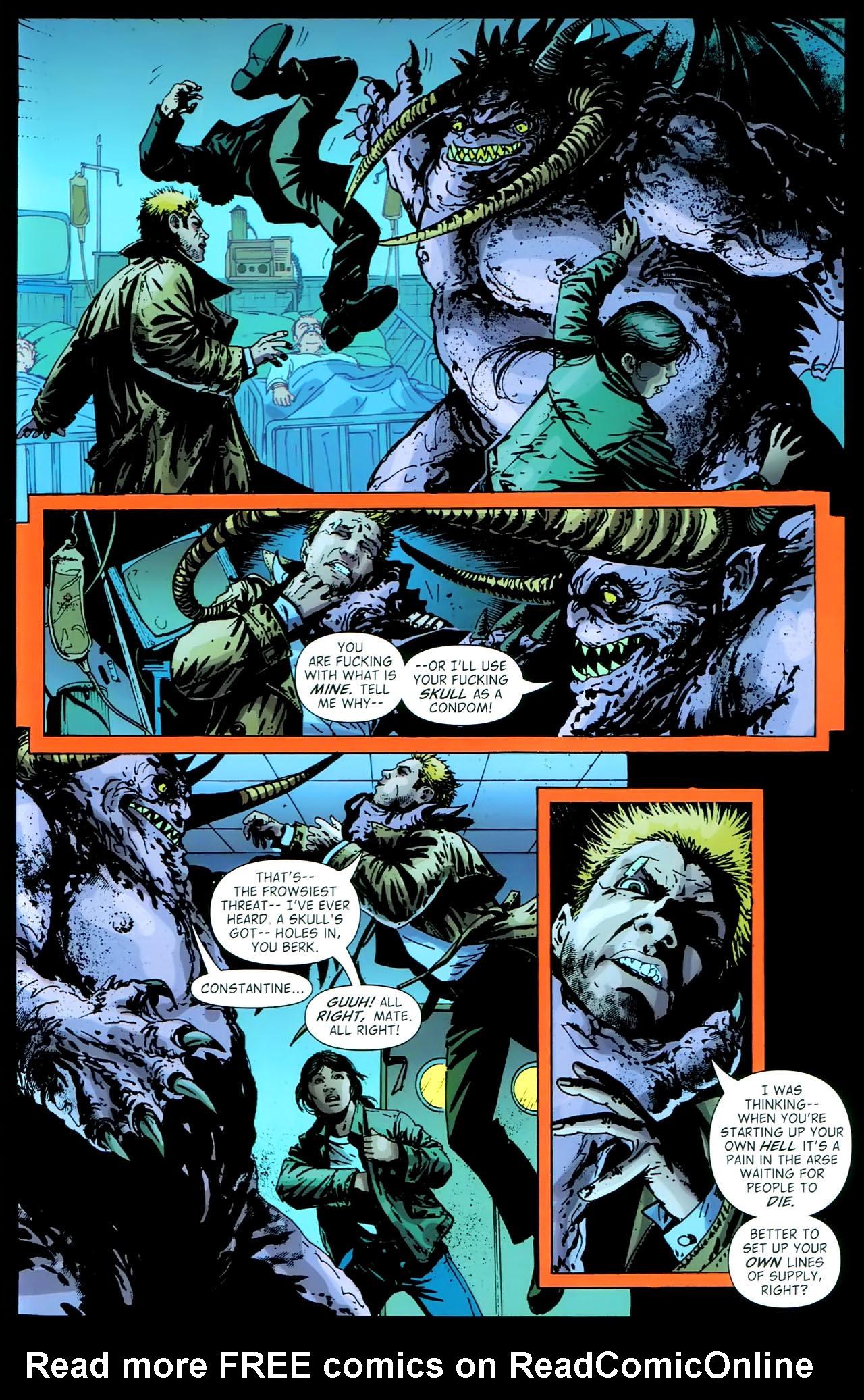 Read online John Constantine Hellblazer: All His Engines comic -  Issue # Full - 103