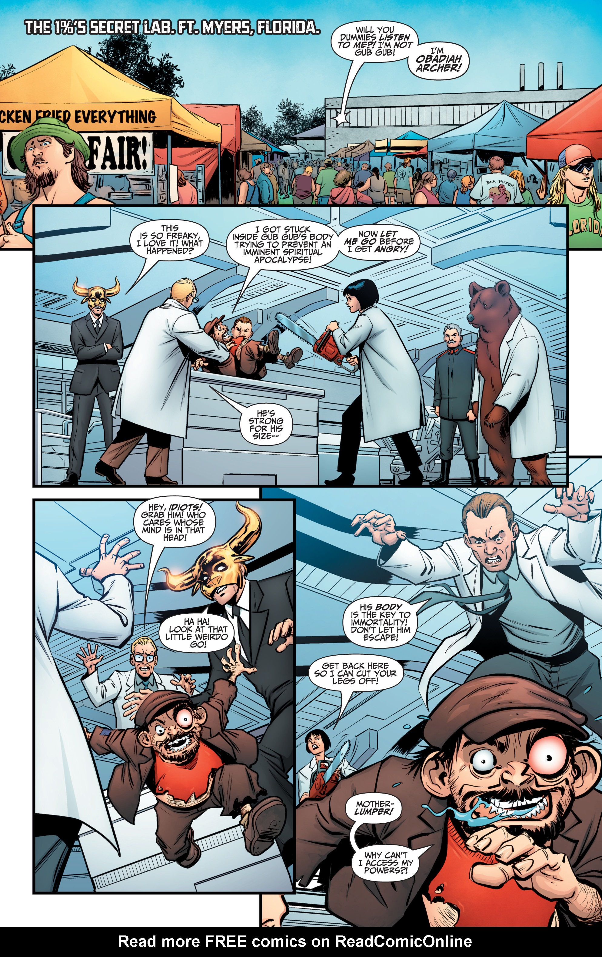 Read online A&A: The Adventures of Archer & Armstrong comic -  Issue #11 - 3