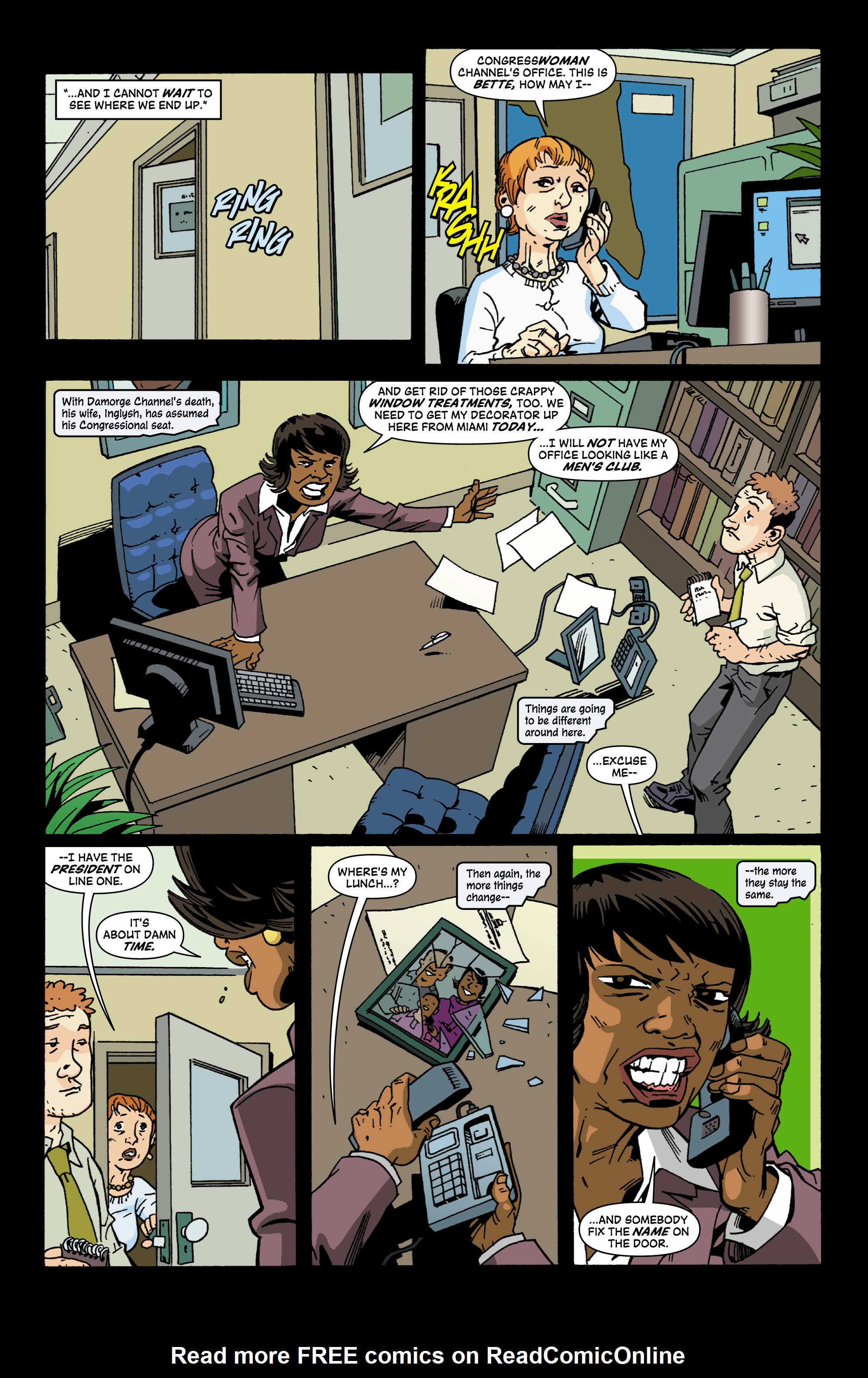 Read online Red Herring comic -  Issue #6 - 12