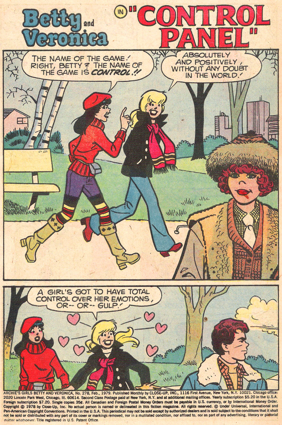 Read online Archie's Girls Betty and Veronica comic -  Issue #278 - 3