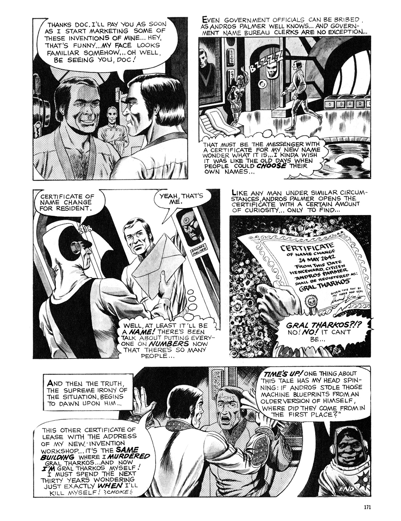 Read online Eerie Archives comic -  Issue # TPB 8 - 172