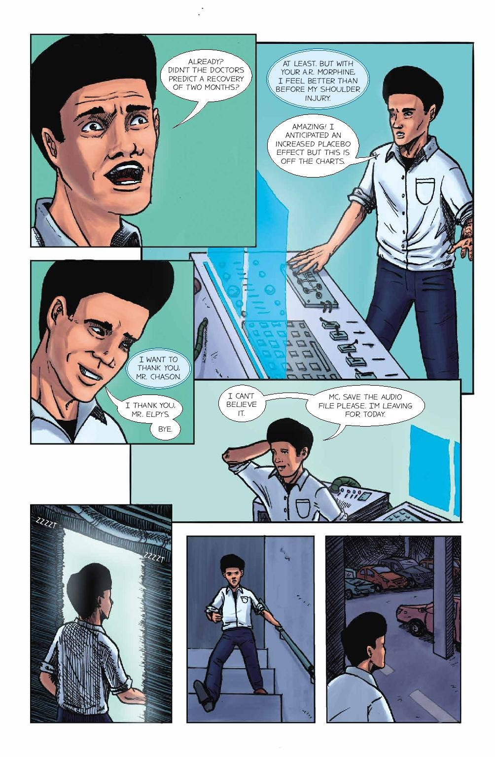 Read online Wolvv comic -  Issue #1 - 21