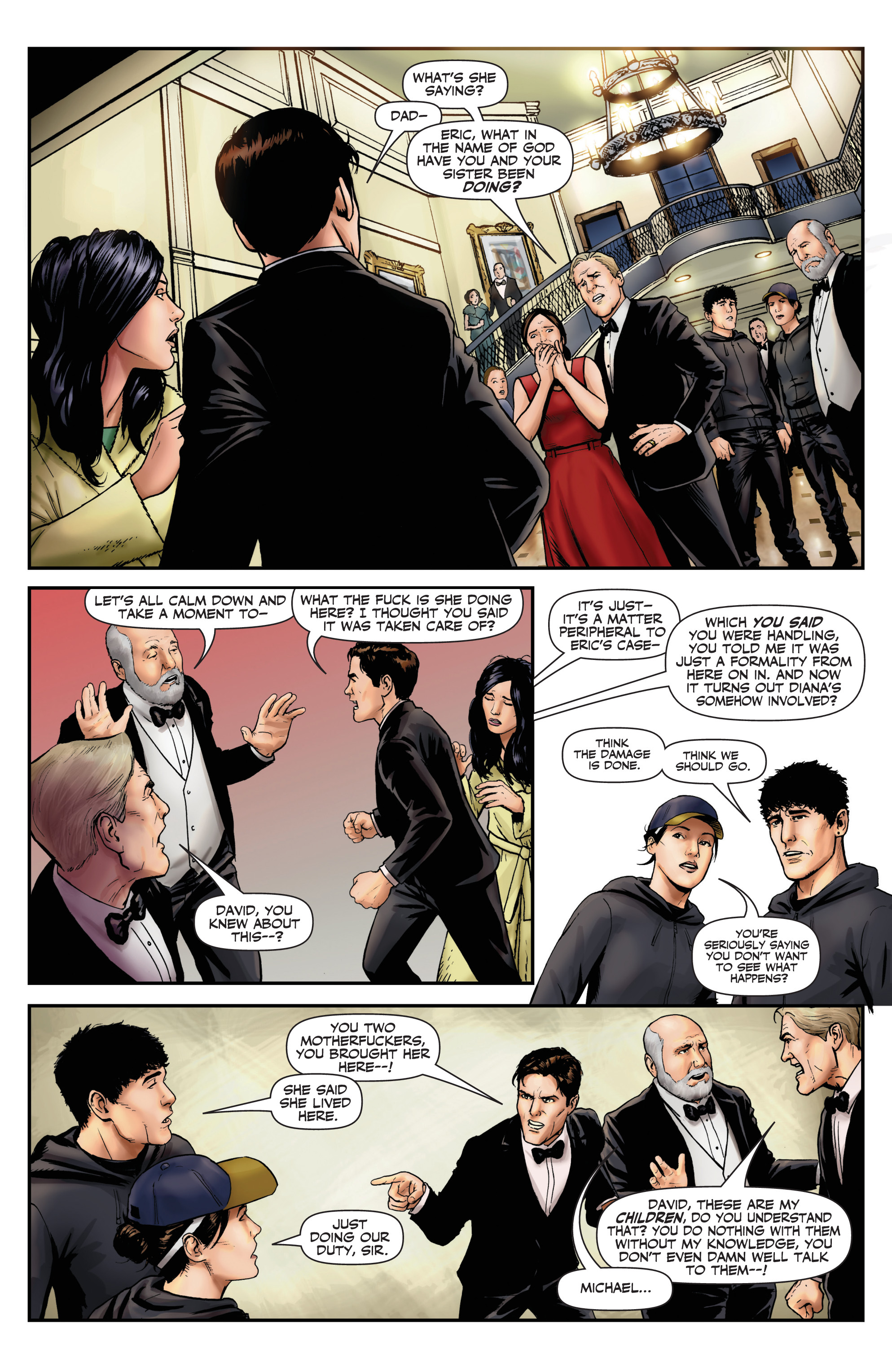 Read online Red Team: Double Tap, Center Mass comic -  Issue #9 - 9