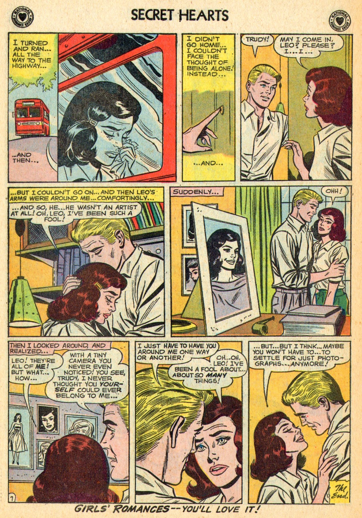 Read online Secret Hearts comic -  Issue #70 - 18