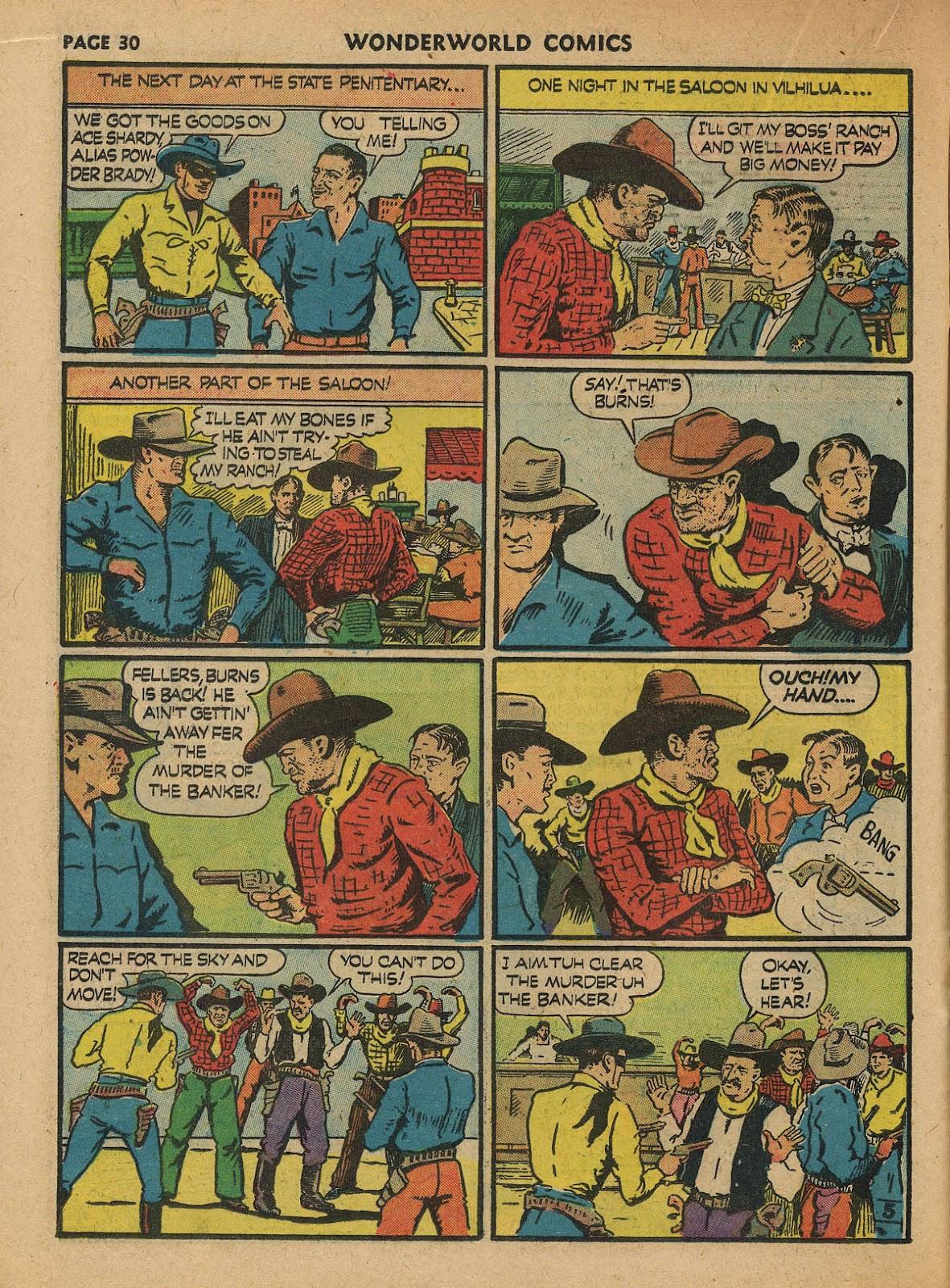Wonderworld Comics issue 23 - Page 32