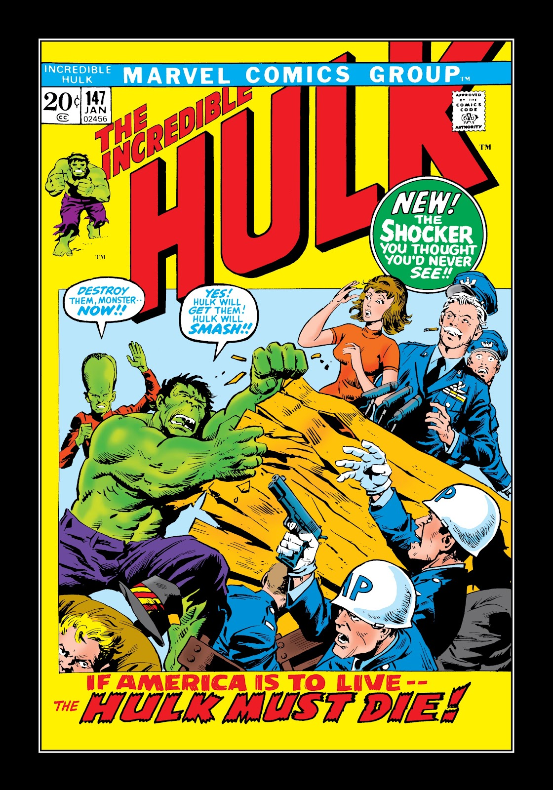 Read online Marvel Masterworks: The Incredible Hulk comic -  Issue # TPB 8 (Part 1) - 63