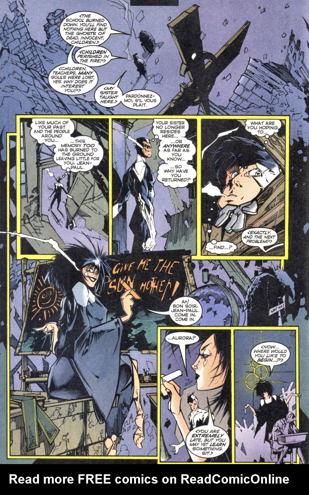 Read online Alpha Flight (1997) comic -  Issue #12 - 13