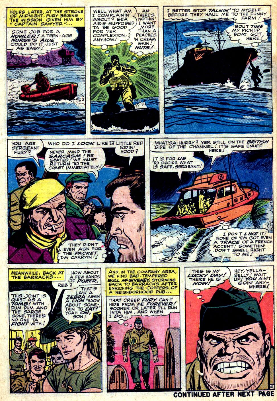 Read online Sgt. Fury comic -  Issue #25 - 6