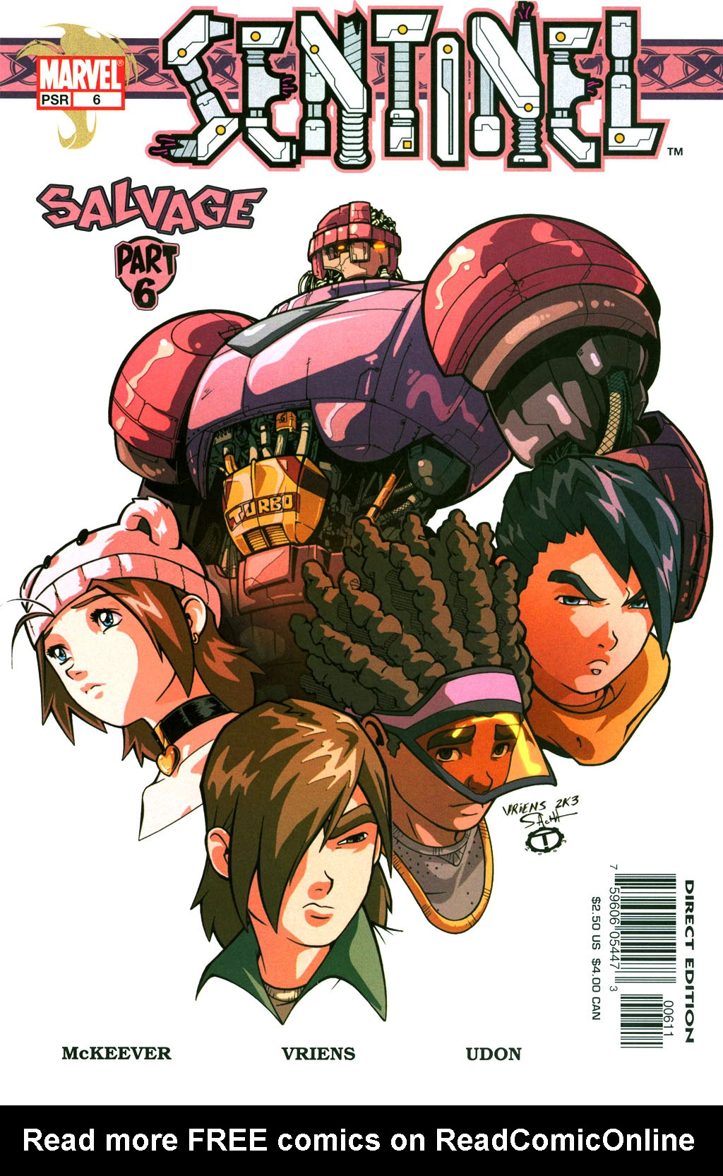 Read online Sentinel comic -  Issue #6 - 1