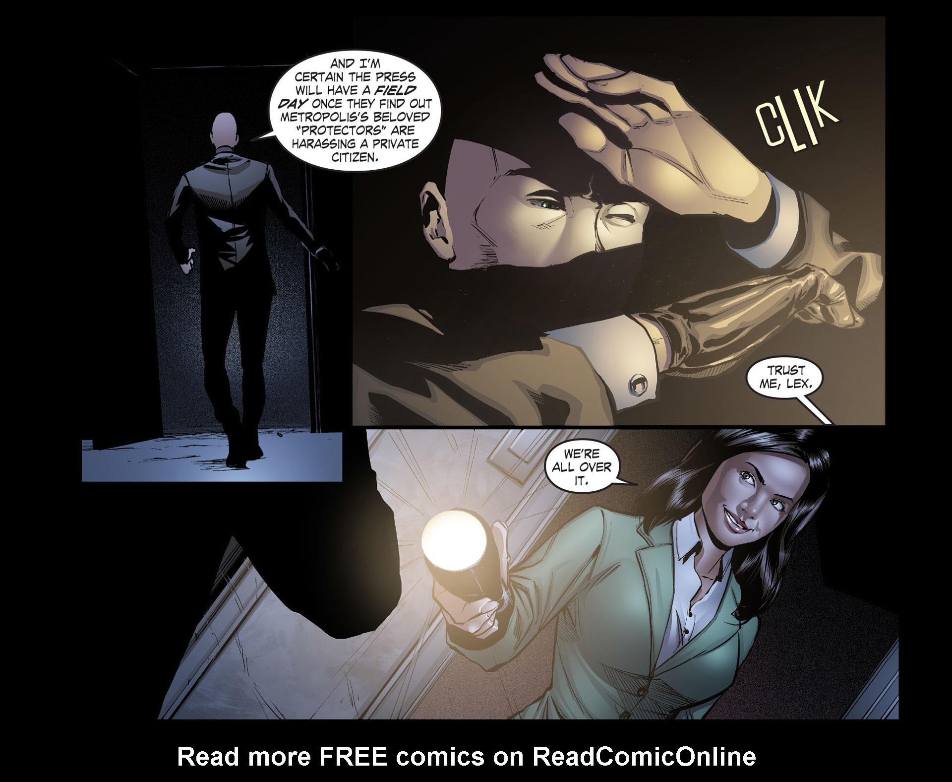 Read online Smallville: Season 11 comic -  Issue #40 - 11