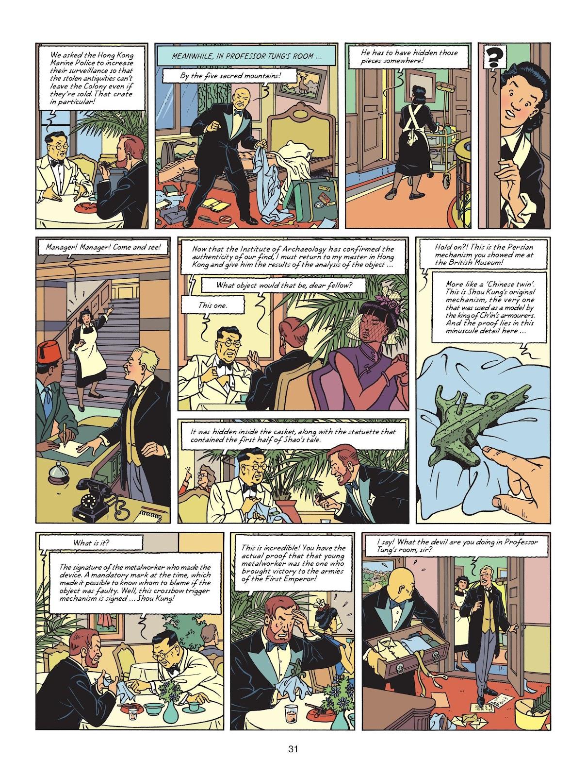 Read online Blake & Mortimer comic -  Issue #25 - 33