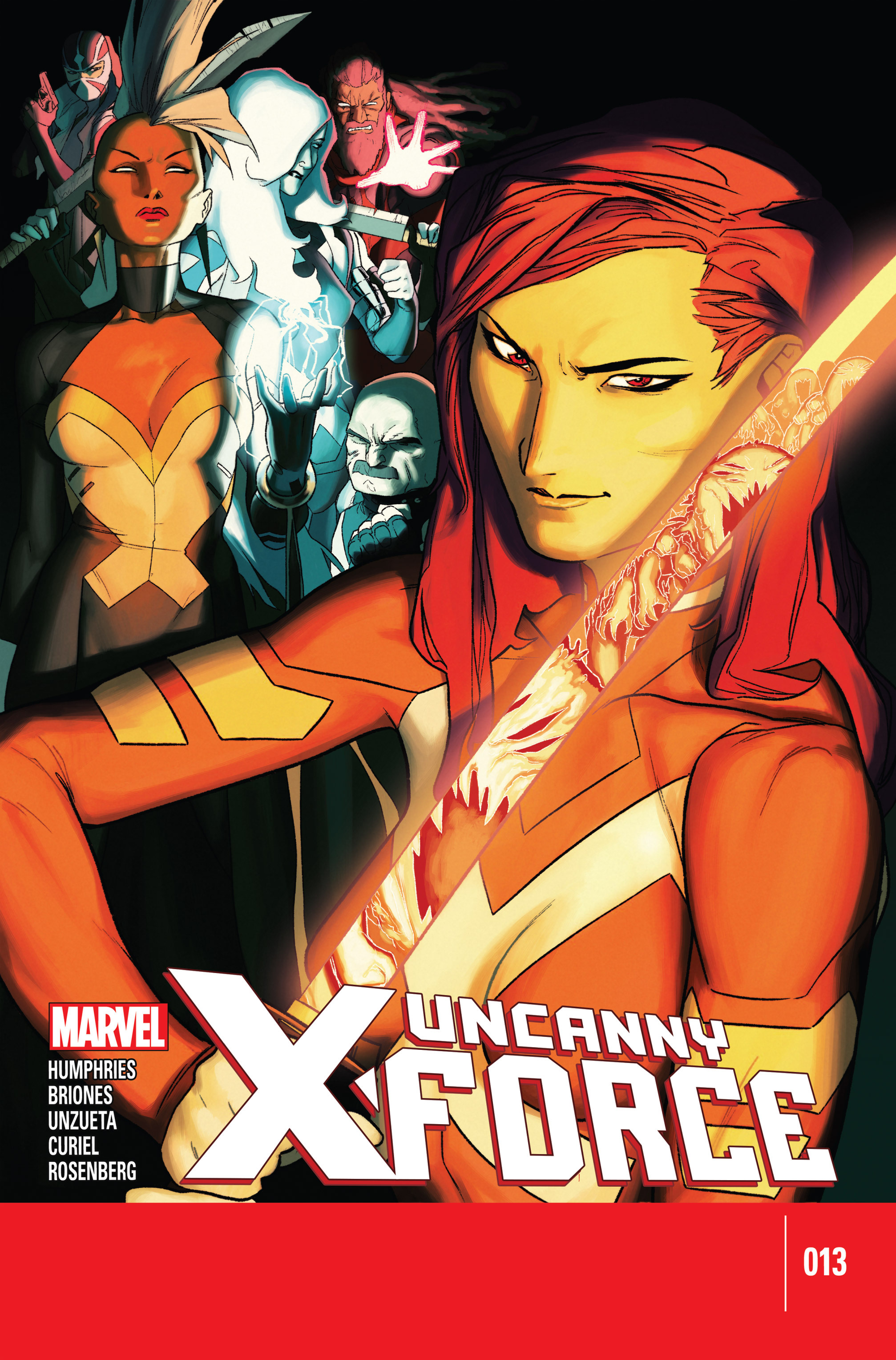 Read online Uncanny X-Force (2013) comic -  Issue #13 - 1
