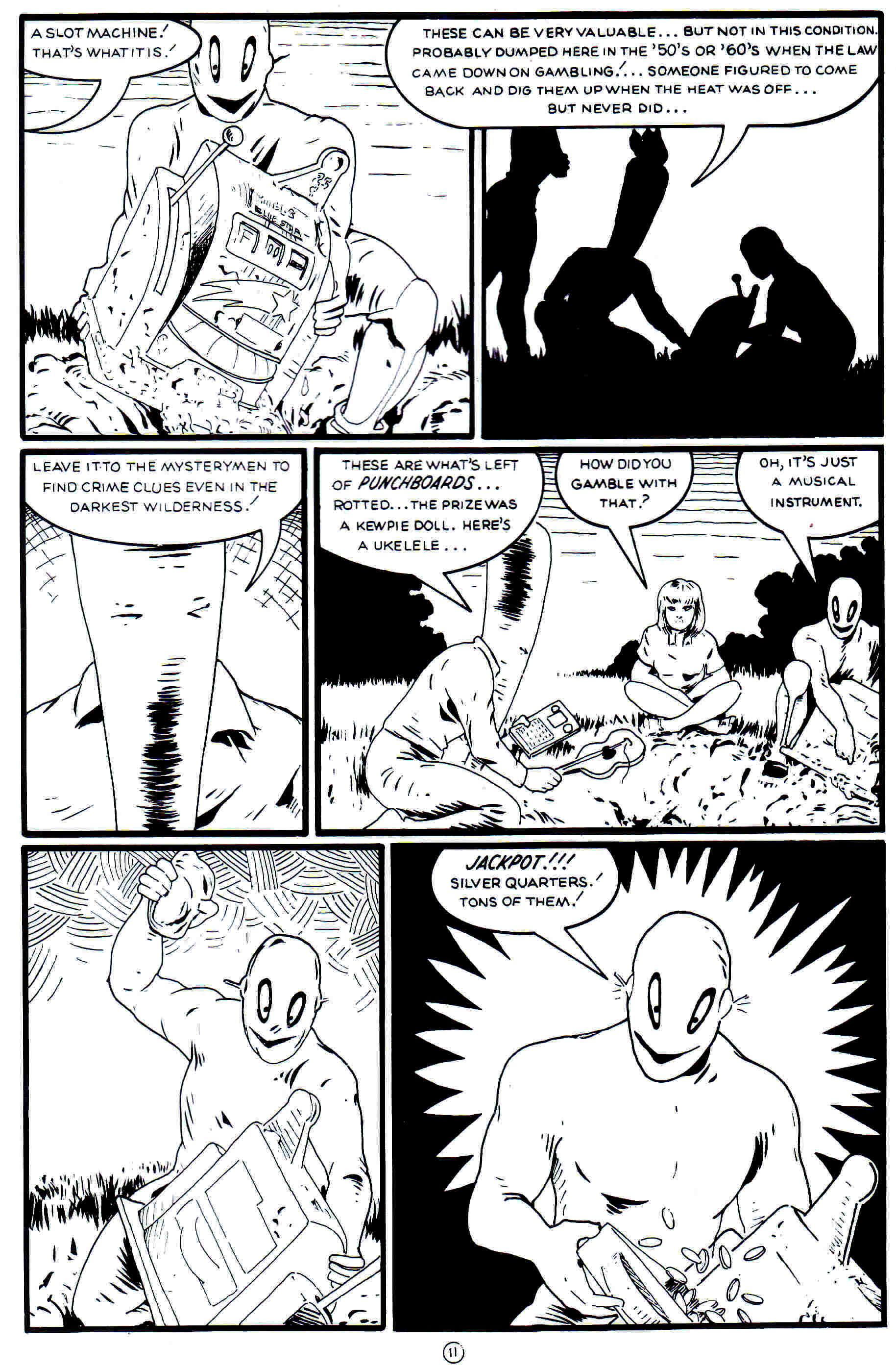 Read online Flaming Carrot Comics (1988) comic -  Issue #21 - 13